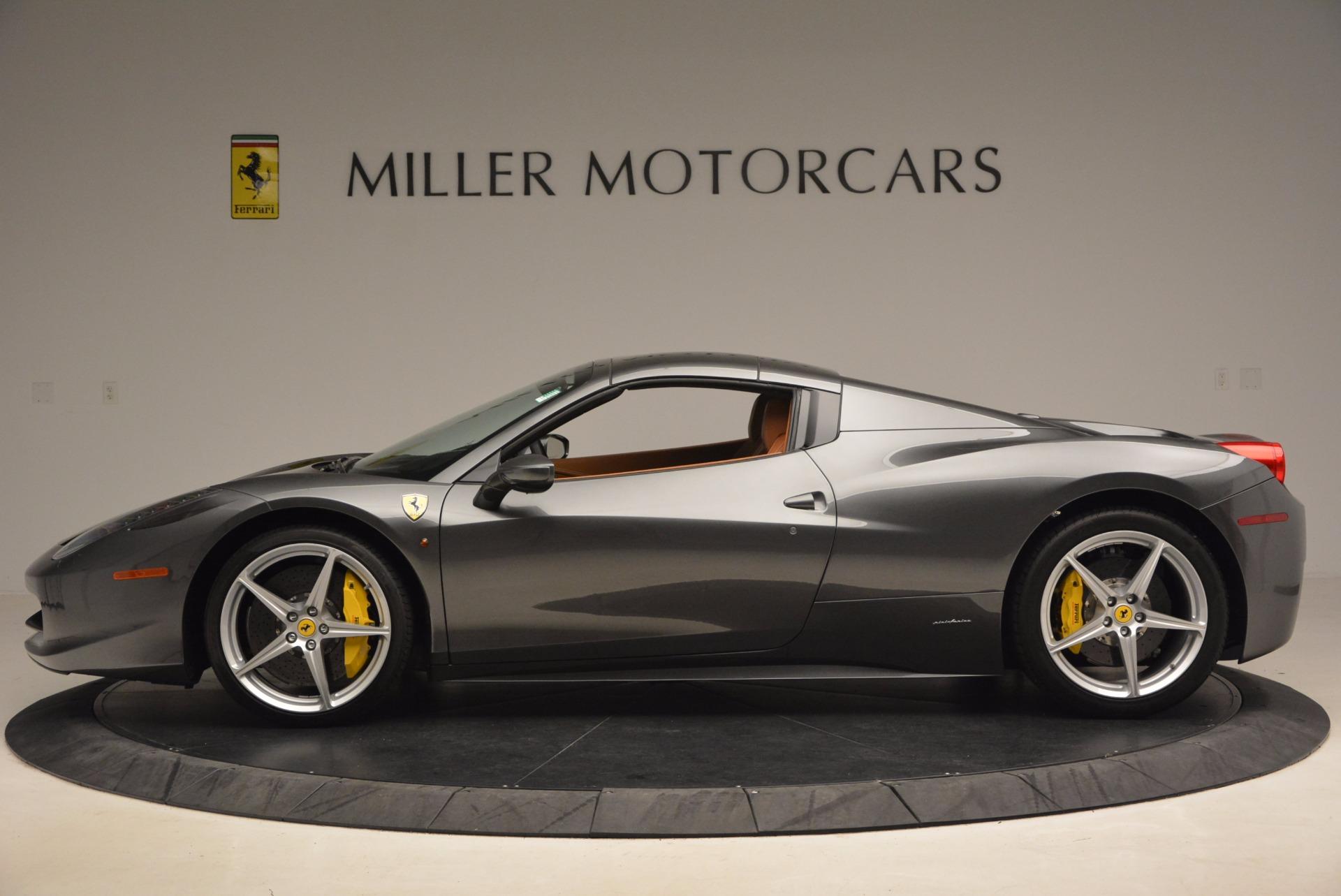 Used 2015 Ferrari 458 Spider  For Sale In Greenwich, CT. Alfa Romeo of Greenwich, 4402A 1423_p15