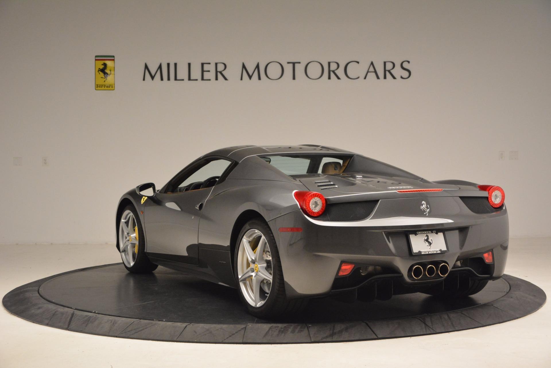 Used 2015 Ferrari 458 Spider  For Sale In Greenwich, CT. Alfa Romeo of Greenwich, 4402A 1423_p17
