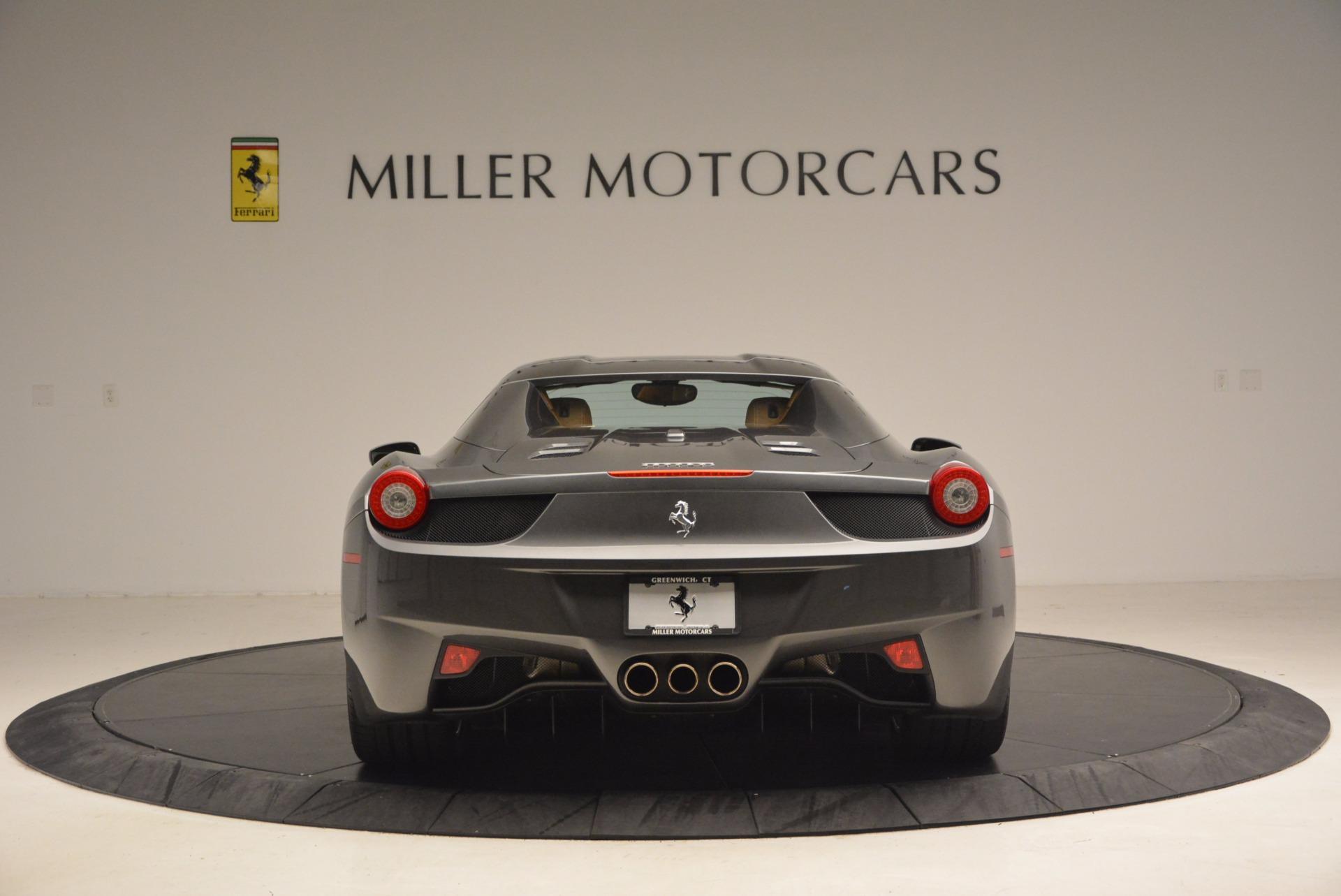 Used 2015 Ferrari 458 Spider  For Sale In Greenwich, CT. Alfa Romeo of Greenwich, 4402A 1423_p18