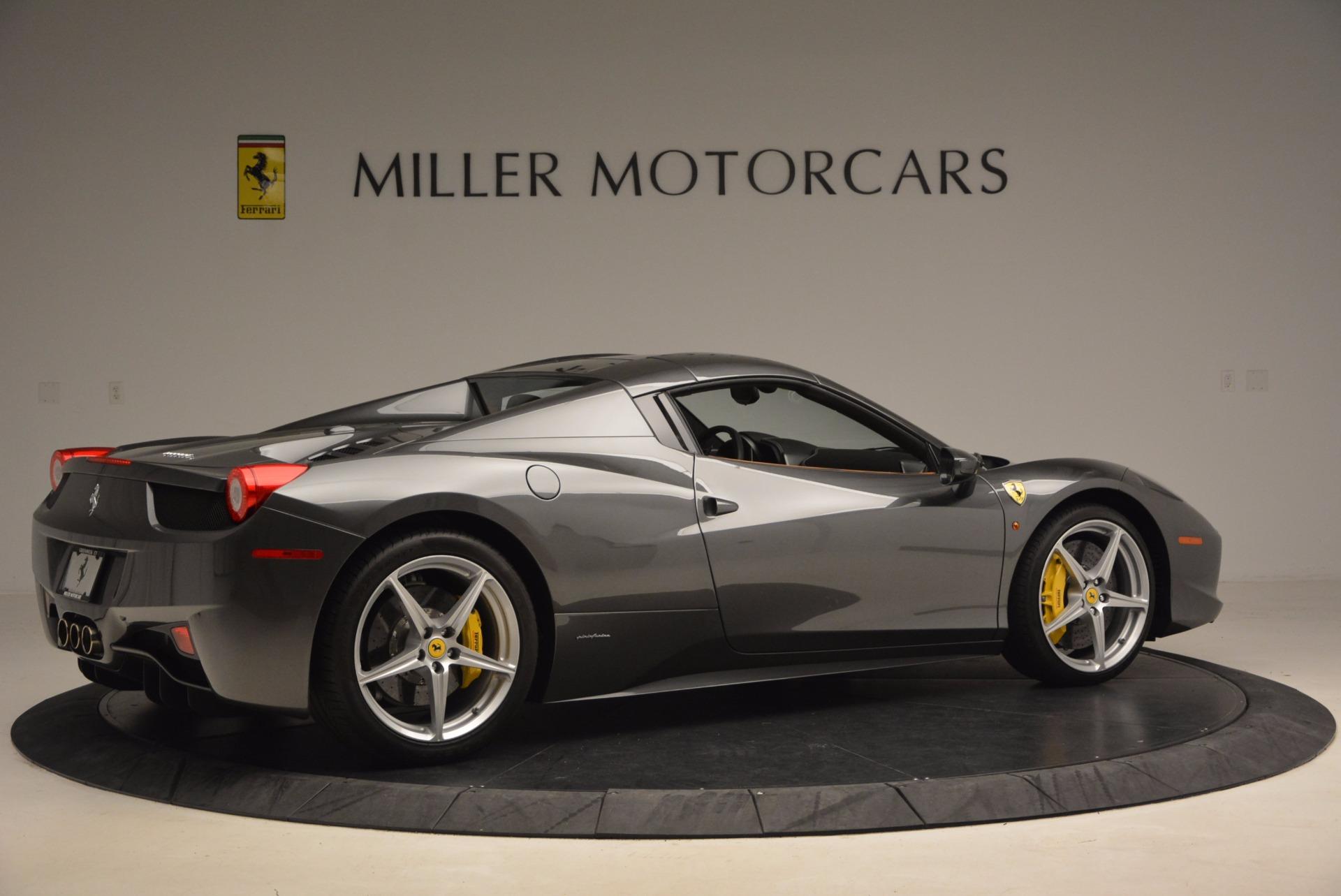 Used 2015 Ferrari 458 Spider  For Sale In Greenwich, CT. Alfa Romeo of Greenwich, 4402A 1423_p20