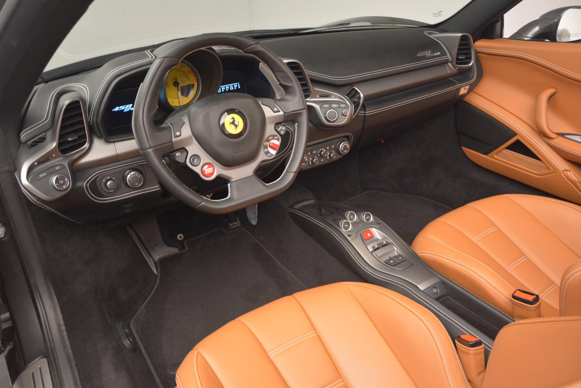 Used 2015 Ferrari 458 Spider  For Sale In Greenwich, CT. Alfa Romeo of Greenwich, 4402A 1423_p25