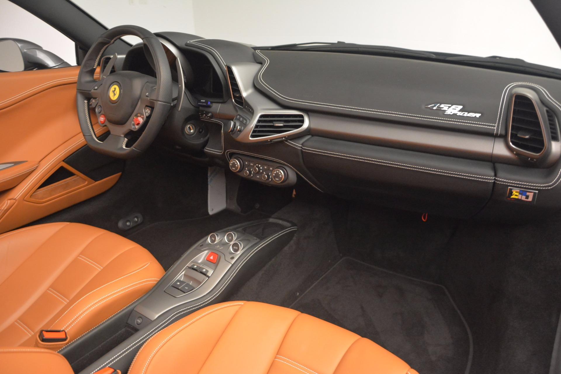 Used 2015 Ferrari 458 Spider  For Sale In Greenwich, CT. Alfa Romeo of Greenwich, 4402A 1423_p29