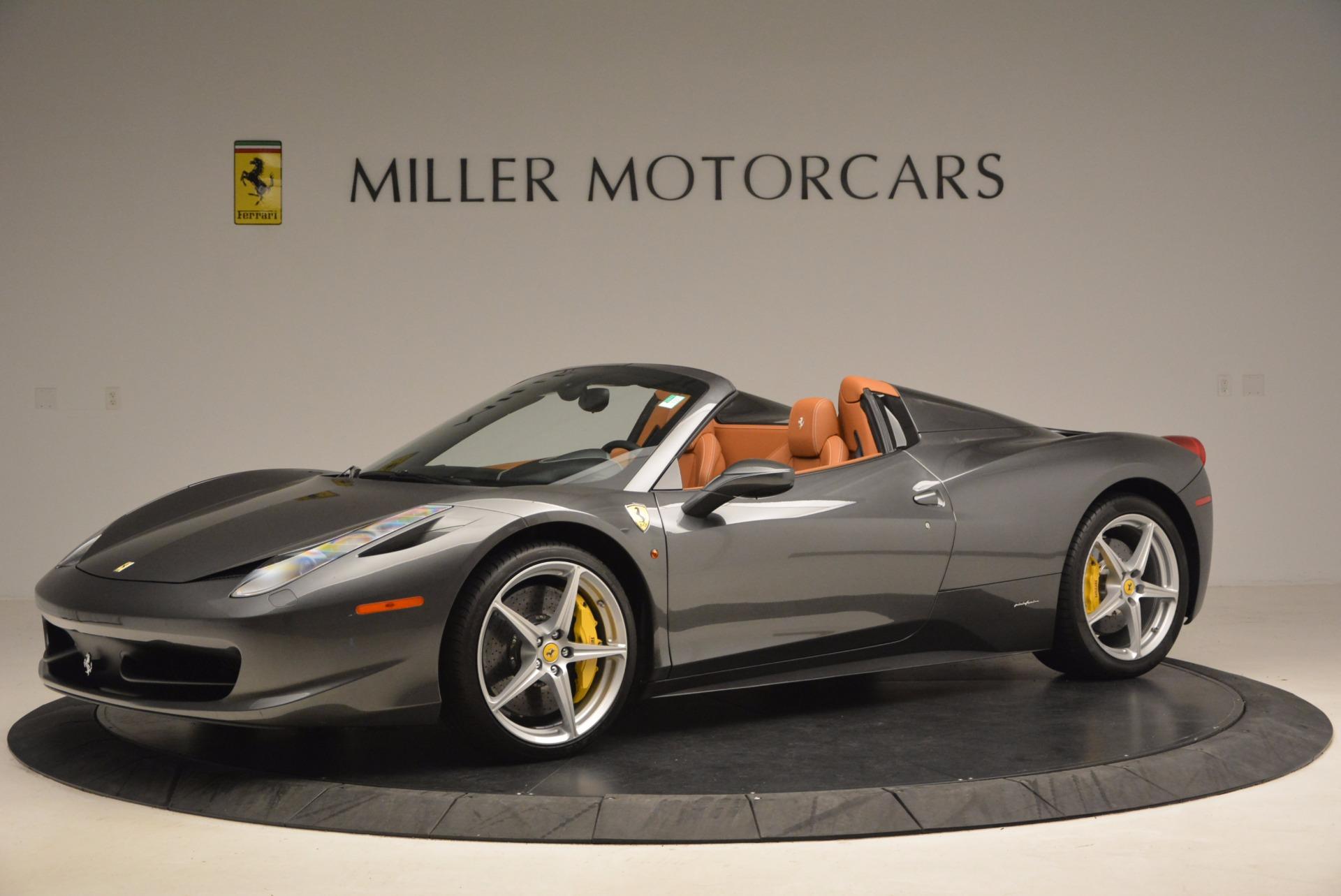 Used 2015 Ferrari 458 Spider  For Sale In Greenwich, CT. Alfa Romeo of Greenwich, 4402A 1423_p2