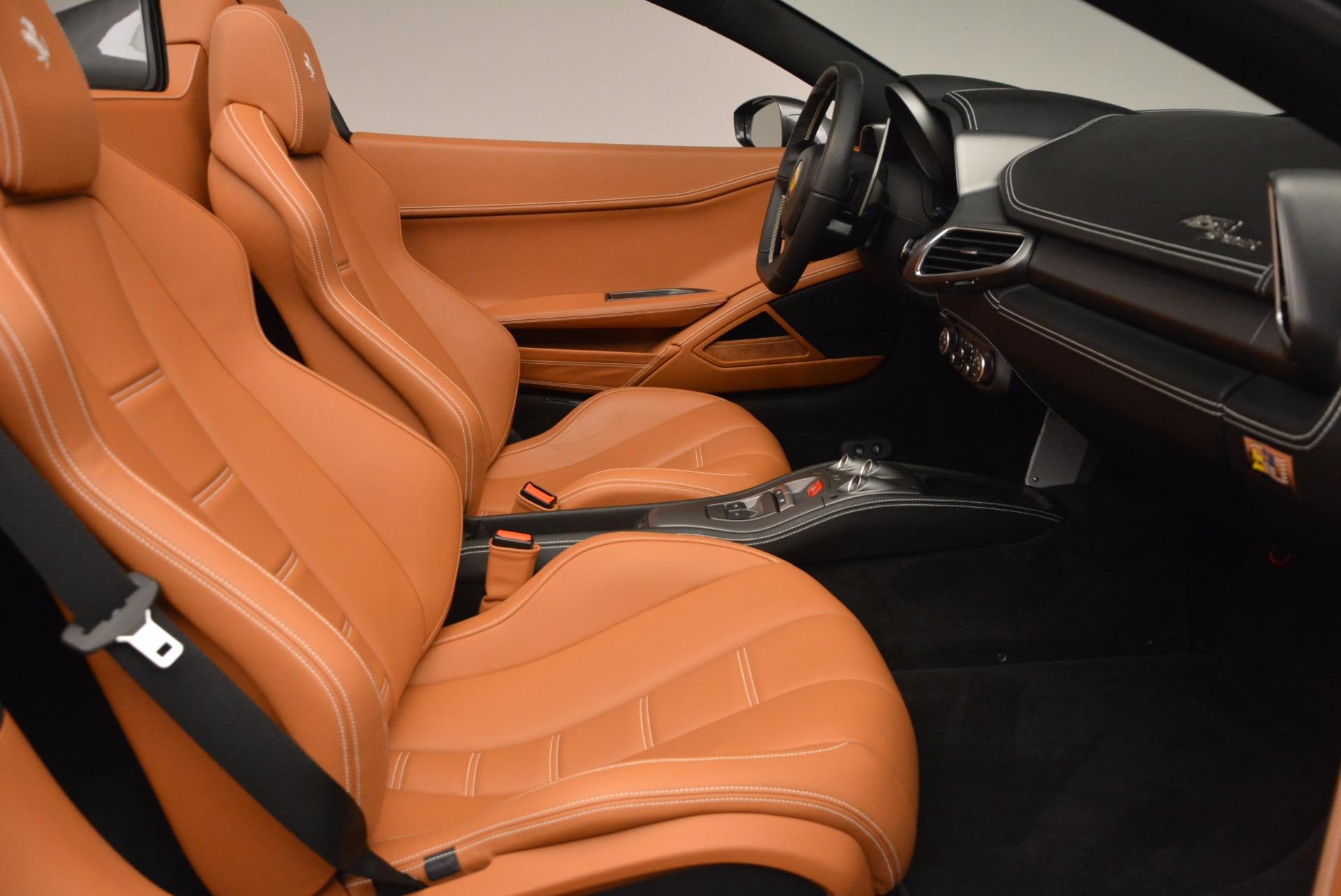Used 2015 Ferrari 458 Spider  For Sale In Greenwich, CT. Alfa Romeo of Greenwich, 4402A 1423_p30