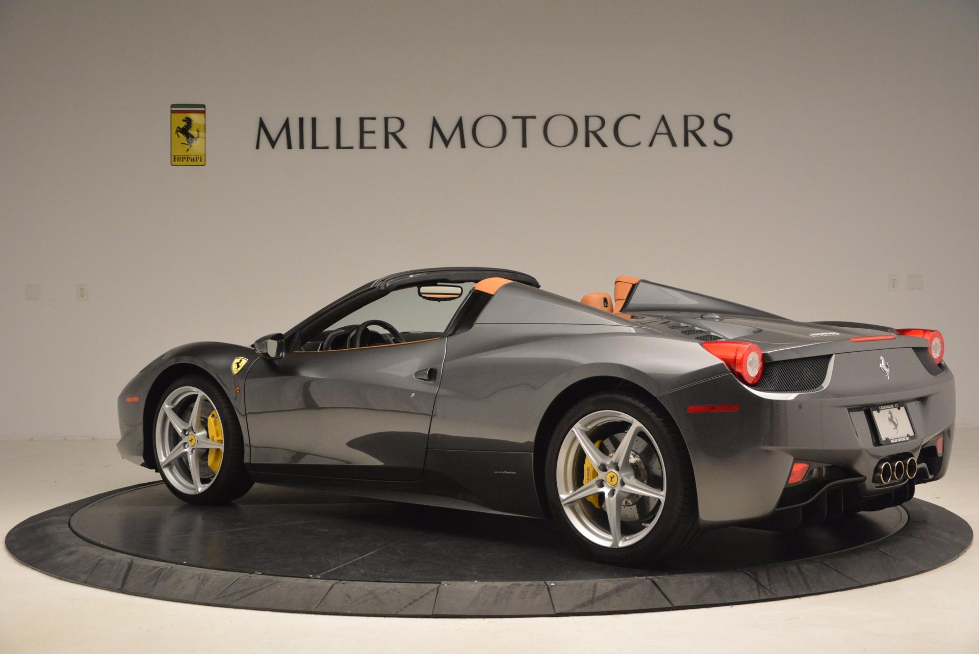 Used 2015 Ferrari 458 Spider  For Sale In Greenwich, CT. Alfa Romeo of Greenwich, 4402A 1423_p4