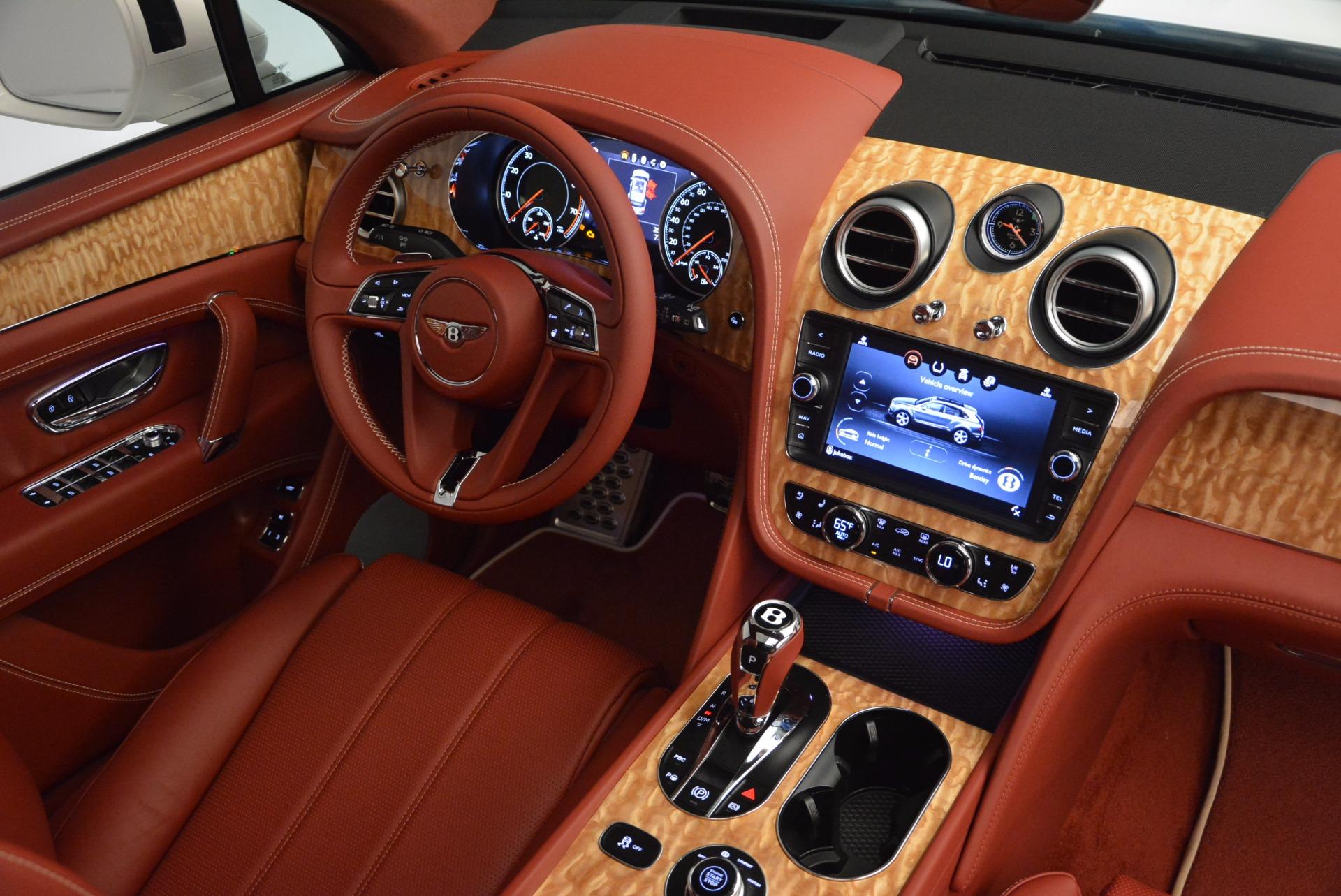 New 2018 Bentley Bentayga Onyx Edition For Sale In Greenwich, CT. Alfa Romeo of Greenwich, B1285 1429_p44