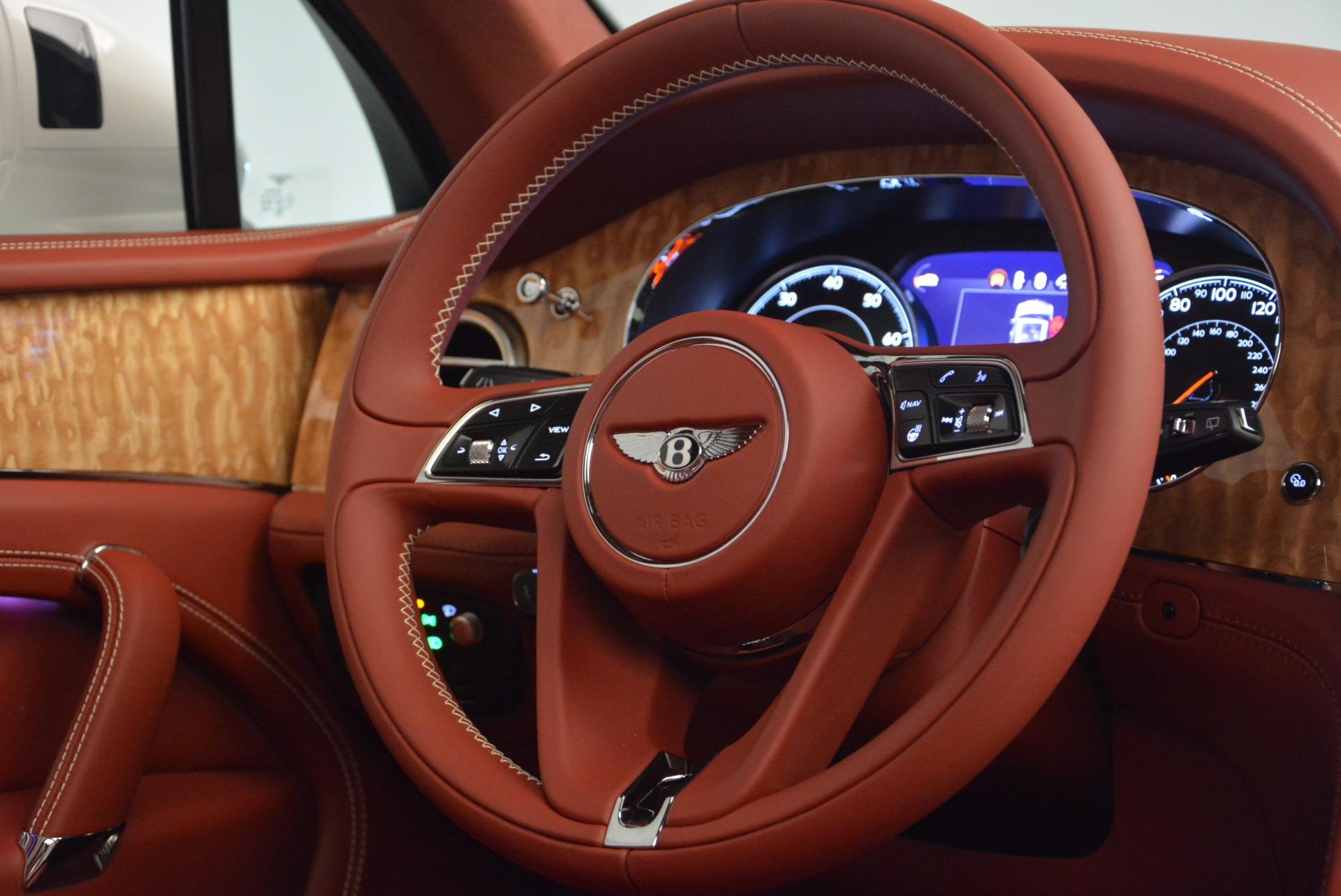 New 2018 Bentley Bentayga Onyx Edition For Sale In Greenwich, CT. Alfa Romeo of Greenwich, B1285 1429_p45