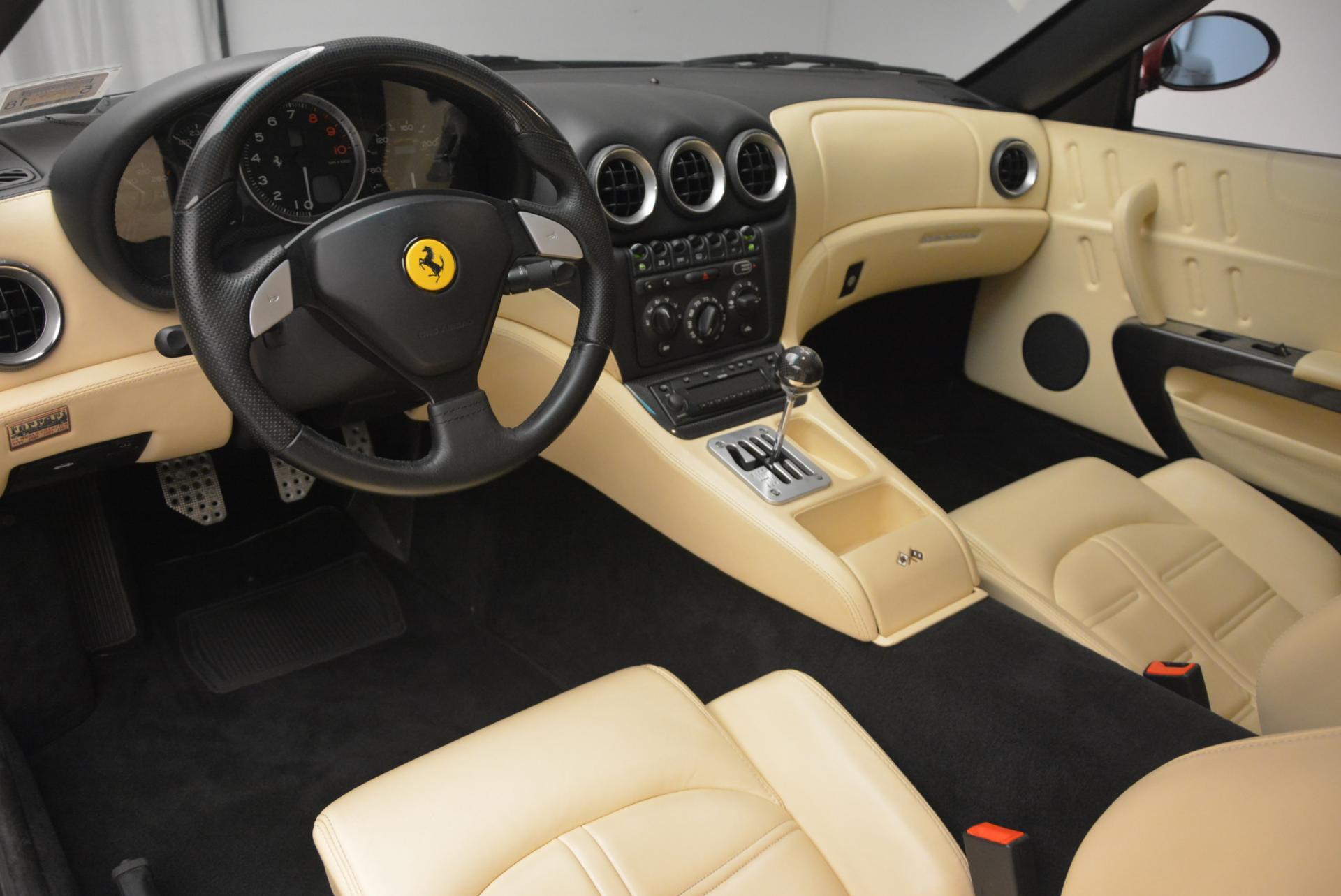 Used 2003 Ferrari 575M Maranello 6-Speed Manual For Sale In Greenwich, CT. Alfa Romeo of Greenwich, 4323C 143_p13