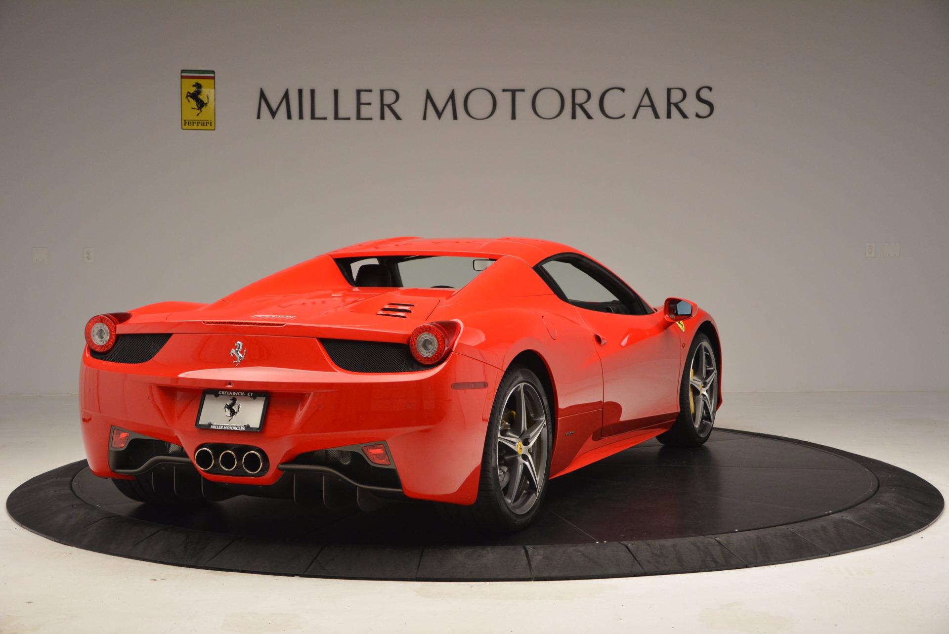 Used 2014 Ferrari 458 Spider  For Sale In Greenwich, CT. Alfa Romeo of Greenwich, 4408 1430_p19