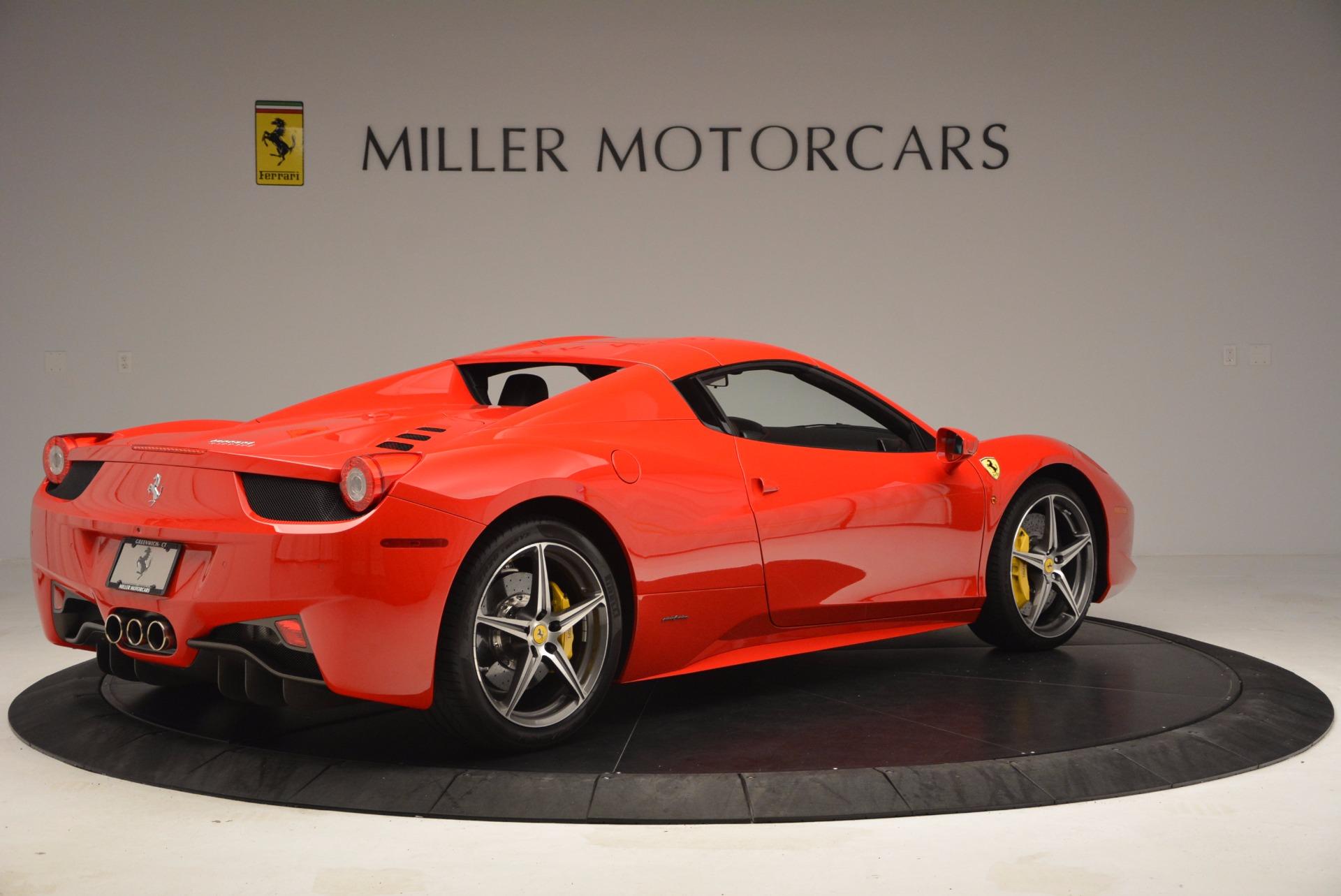 Used 2014 Ferrari 458 Spider  For Sale In Greenwich, CT. Alfa Romeo of Greenwich, 4408 1430_p20