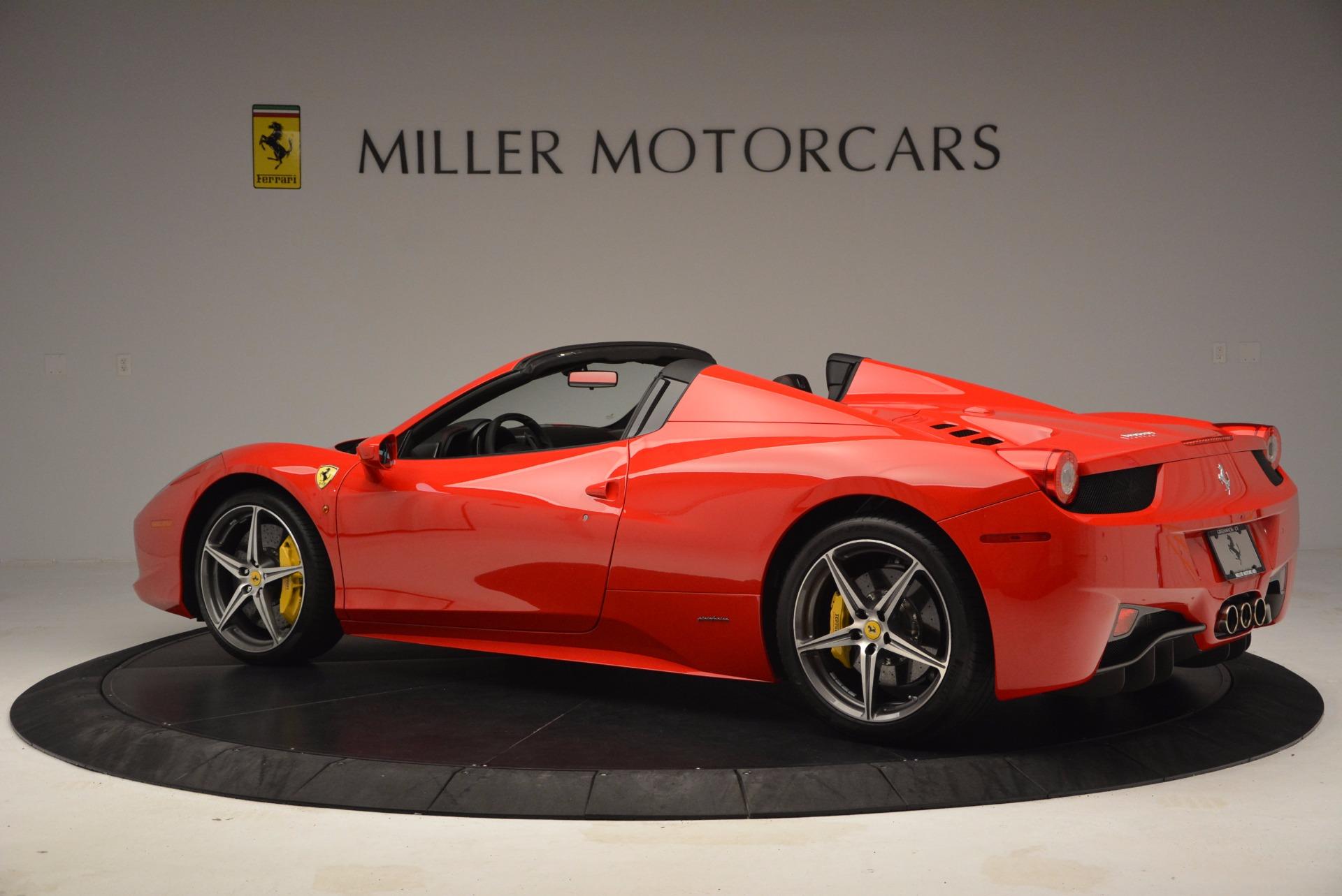 Used 2014 Ferrari 458 Spider  For Sale In Greenwich, CT. Alfa Romeo of Greenwich, 4408 1430_p4