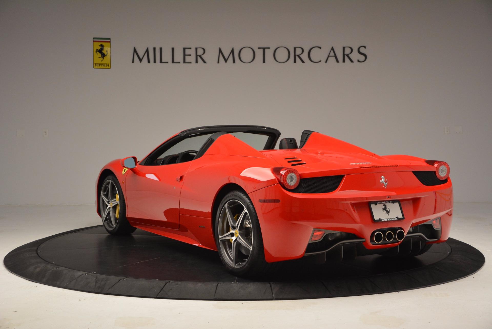 Used 2014 Ferrari 458 Spider  For Sale In Greenwich, CT. Alfa Romeo of Greenwich, 4408 1430_p5