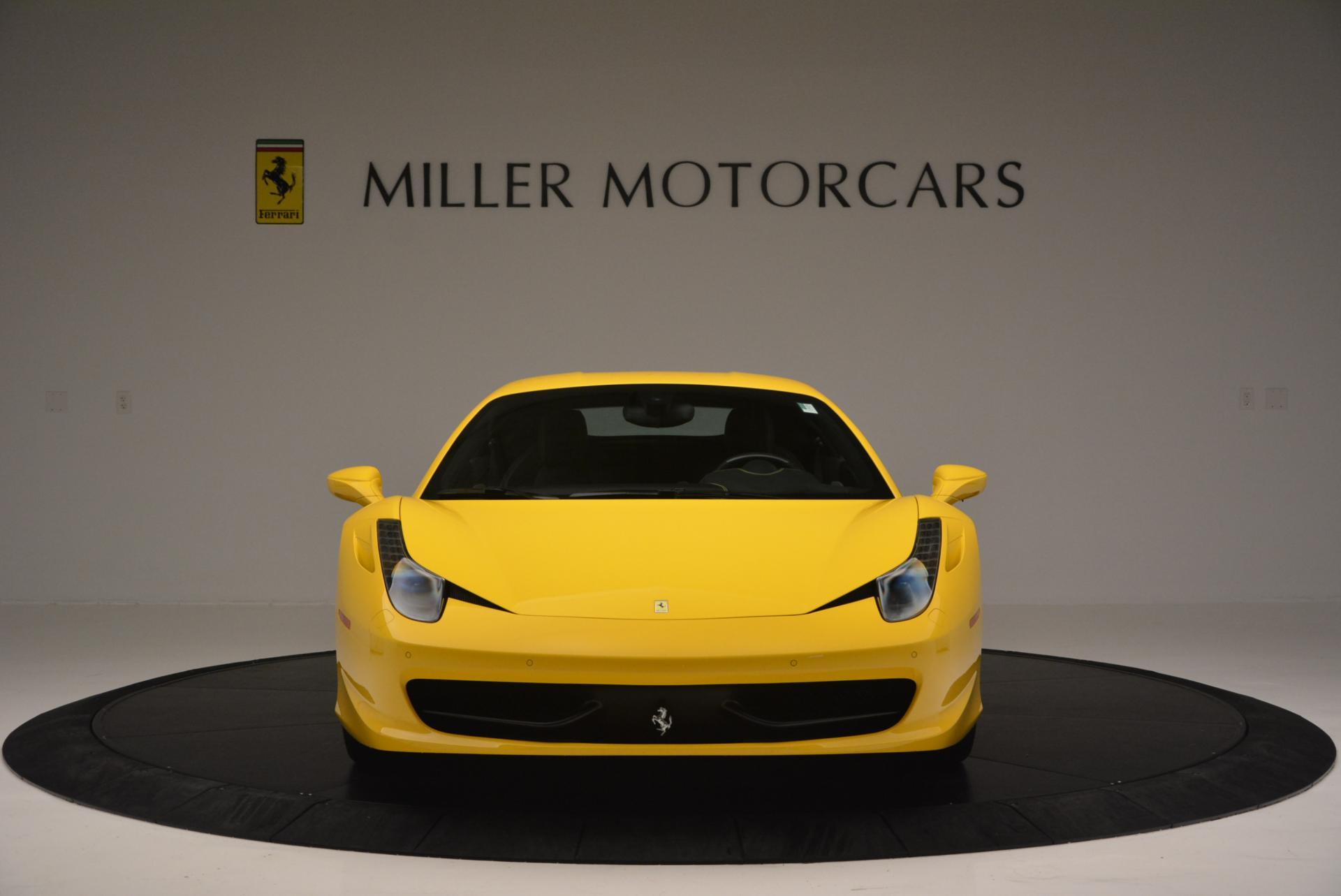 Used 2011 Ferrari 458 Italia  For Sale In Greenwich, CT. Alfa Romeo of Greenwich, 4321 144_p12