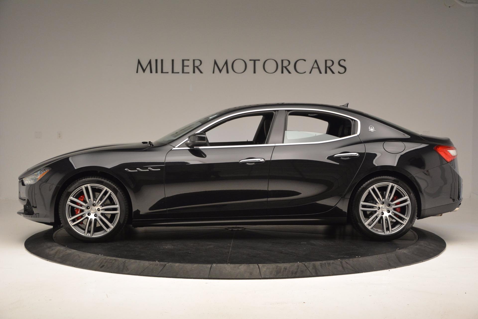 New 2017 Maserati Ghibli SQ4 For Sale In Greenwich, CT. Alfa Romeo of Greenwich, M1904 1443_p3