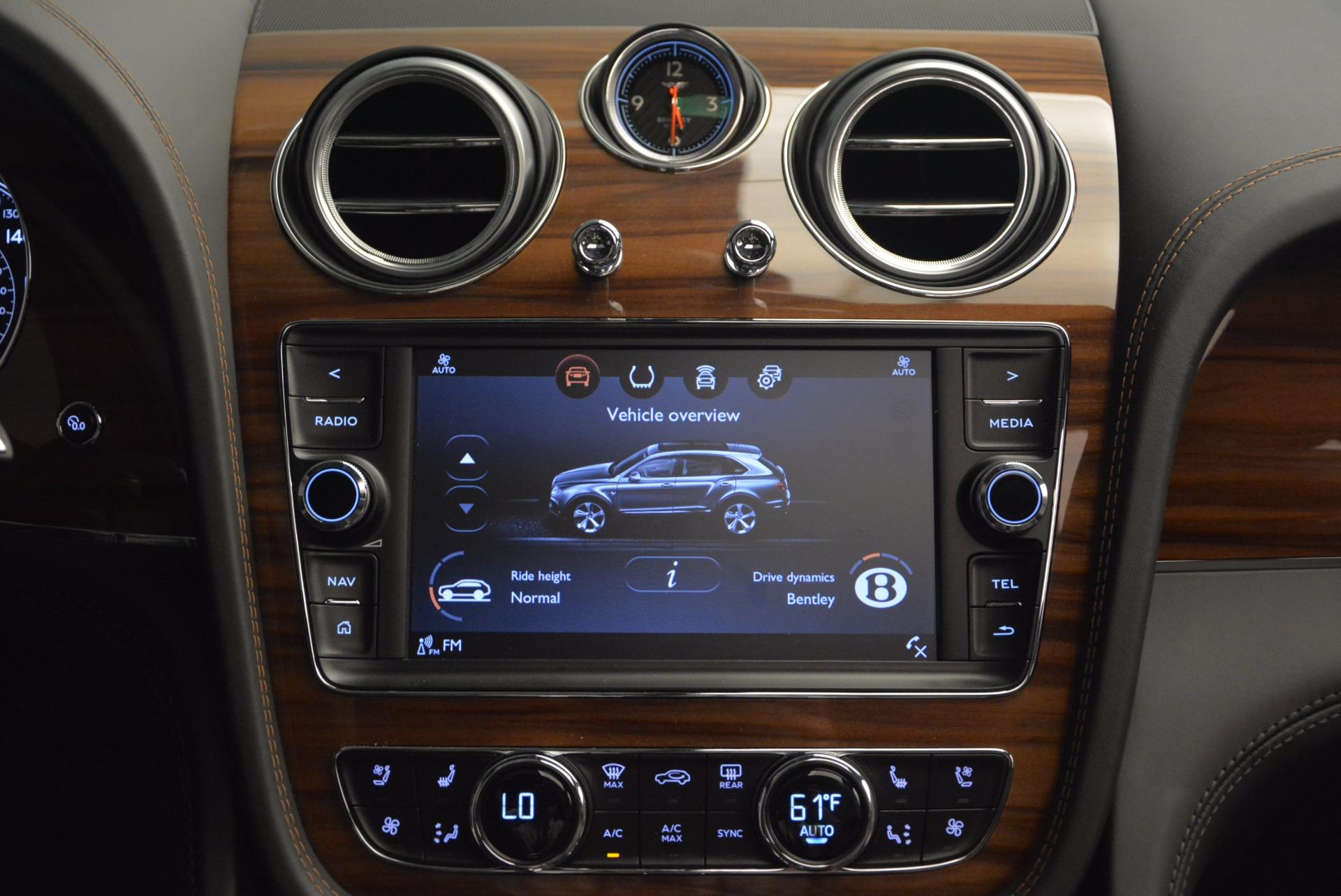 New 2018 Bentley Bentayga Onyx For Sale In Greenwich, CT. Alfa Romeo of Greenwich, B1287 1446_p47