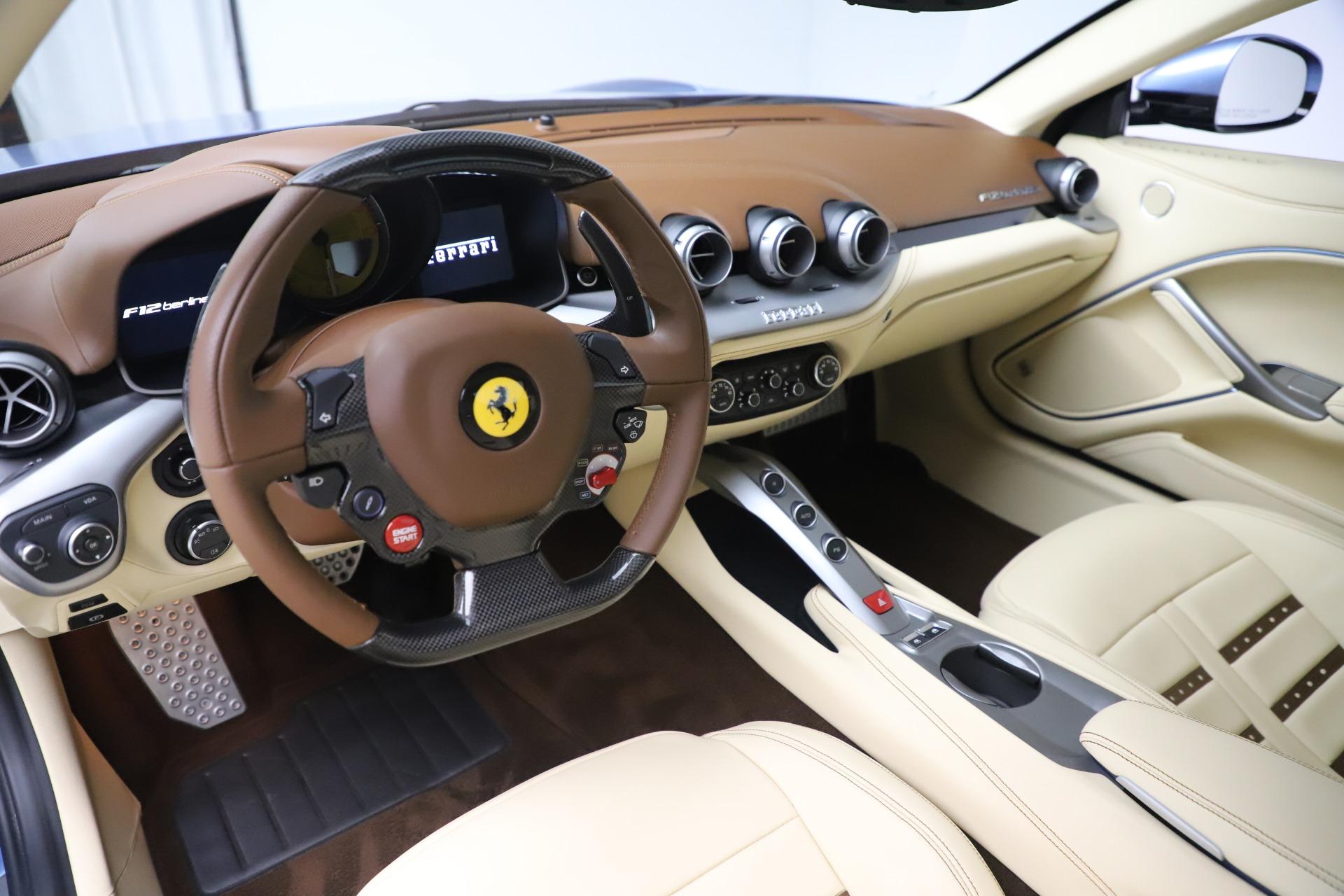 Used 2015 Ferrari F12 Berlinetta  For Sale In Greenwich, CT. Alfa Romeo of Greenwich, 4409C 1456_p13