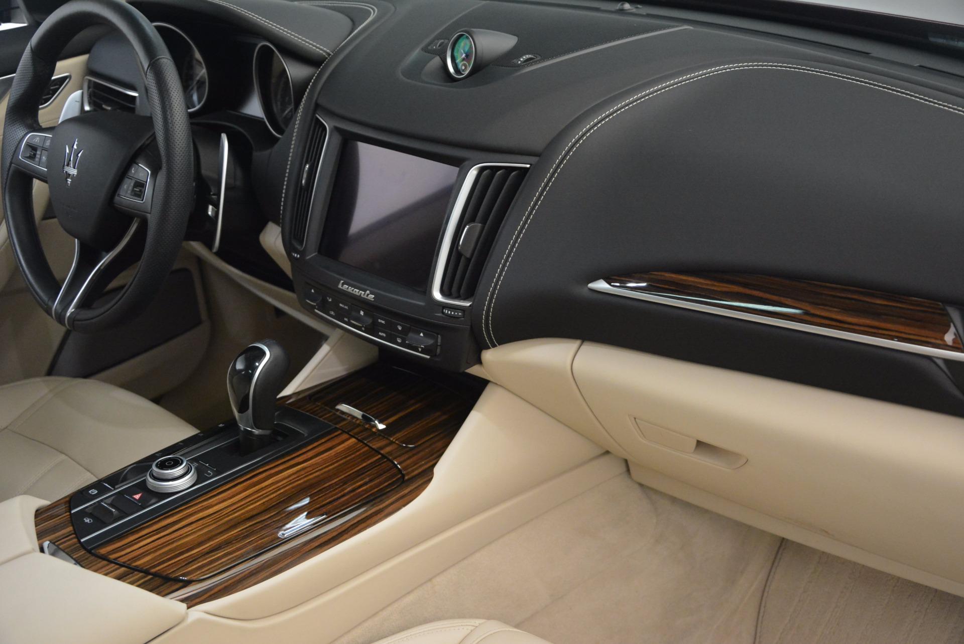 Used 2017 Maserati Levante S For Sale In Greenwich, CT. Alfa Romeo of Greenwich, 7255 1463_p19