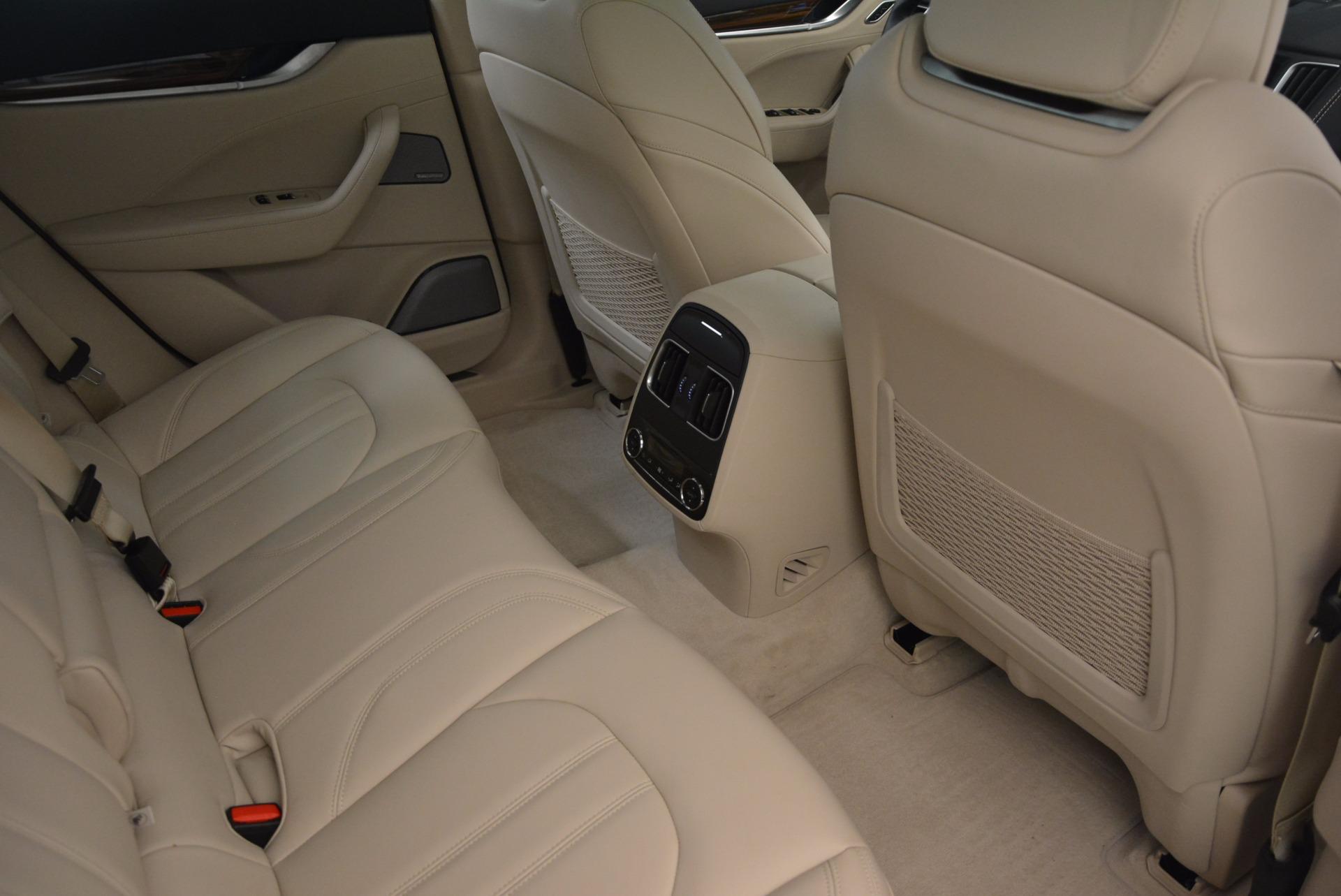 Used 2017 Maserati Levante S For Sale In Greenwich, CT. Alfa Romeo of Greenwich, 7255 1463_p22