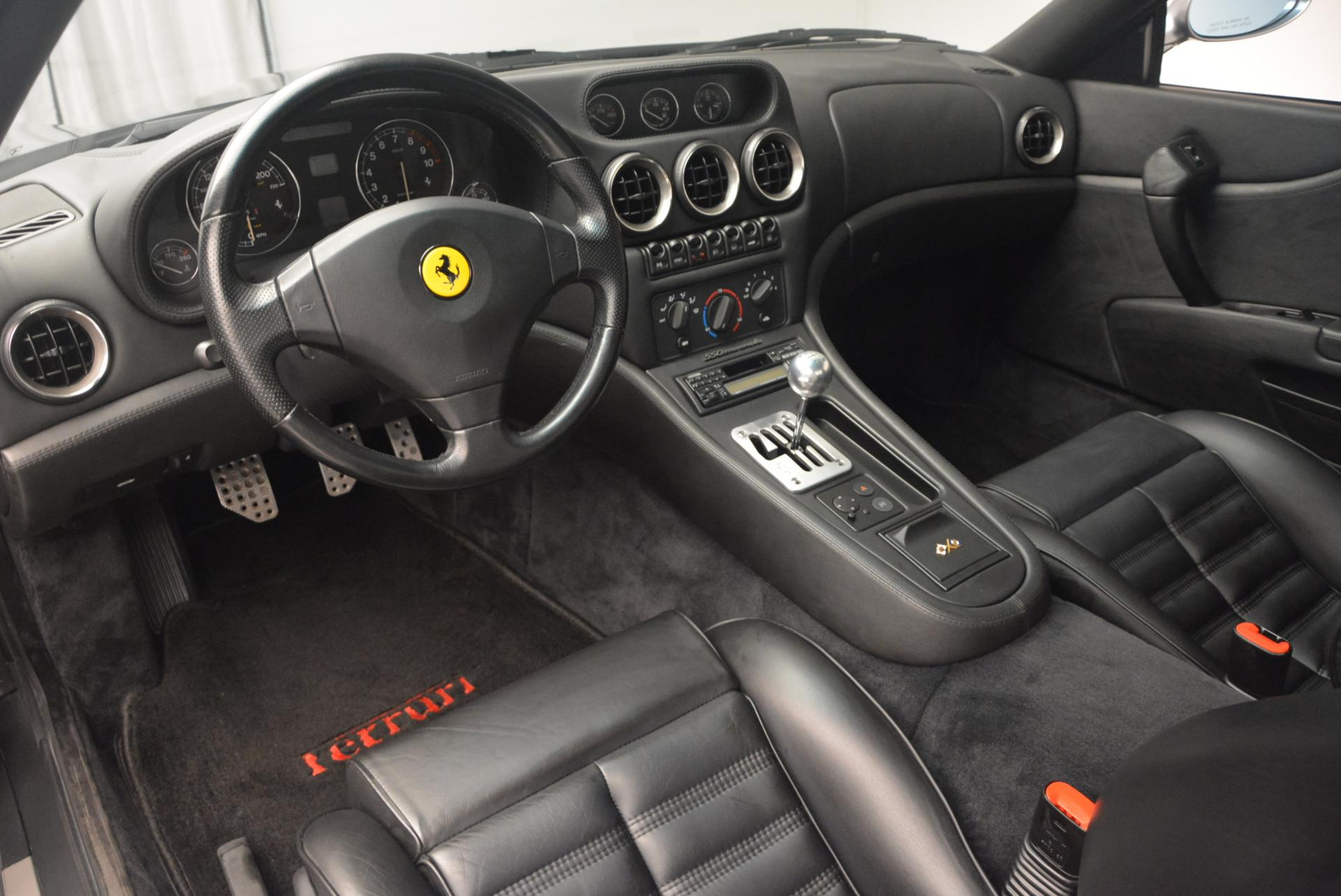 Used 1997 Ferrari 550 Maranello  For Sale In Greenwich, CT. Alfa Romeo of Greenwich, 4474A 147_p13