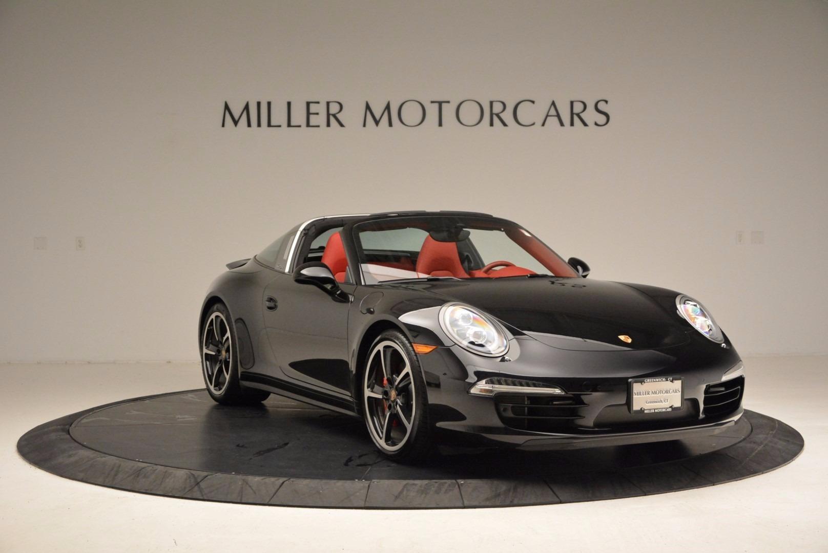 Used 2015 Porsche 911 Targa 4S For Sale In Greenwich, CT. Alfa Romeo of Greenwich, 7221A 1476_p11