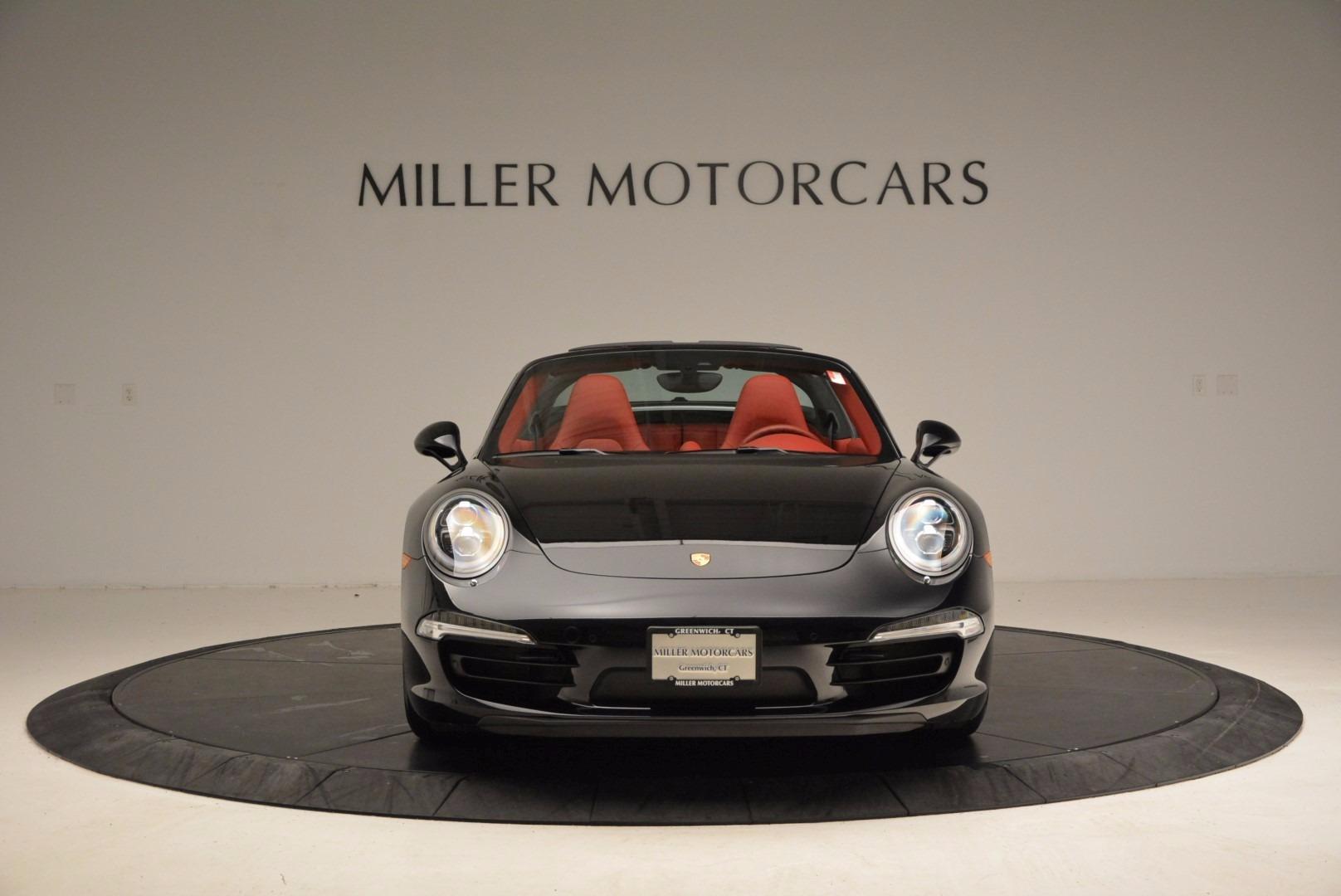 Used 2015 Porsche 911 Targa 4S For Sale In Greenwich, CT. Alfa Romeo of Greenwich, 7221A 1476_p12