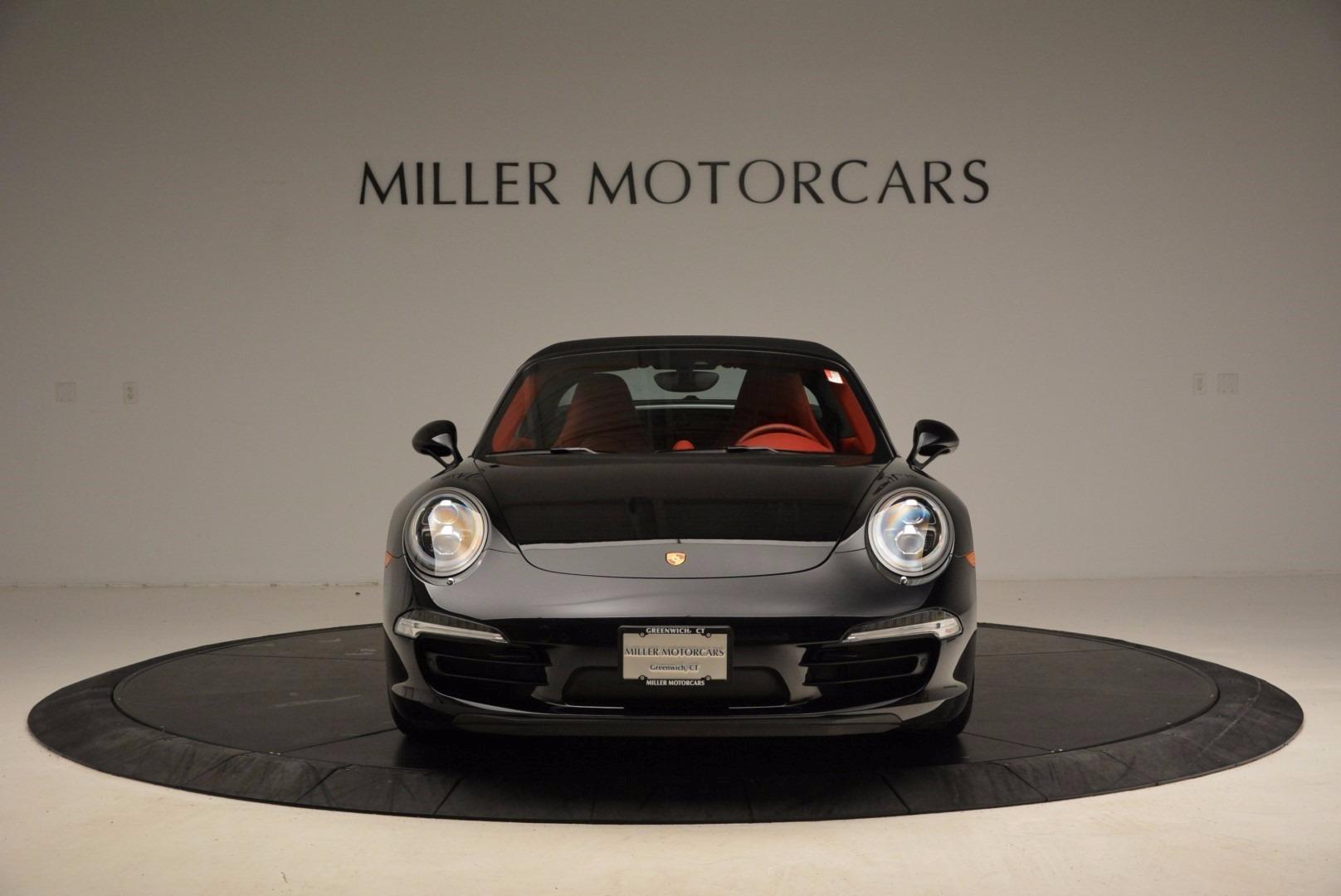 Used 2015 Porsche 911 Targa 4S For Sale In Greenwich, CT. Alfa Romeo of Greenwich, 7221A 1476_p20