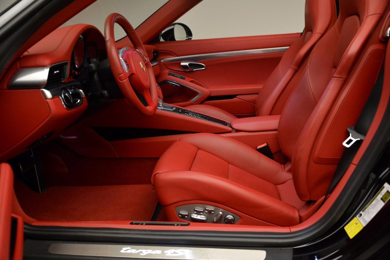 Used 2015 Porsche 911 Targa 4S For Sale In Greenwich, CT. Alfa Romeo of Greenwich, 7221A 1476_p22