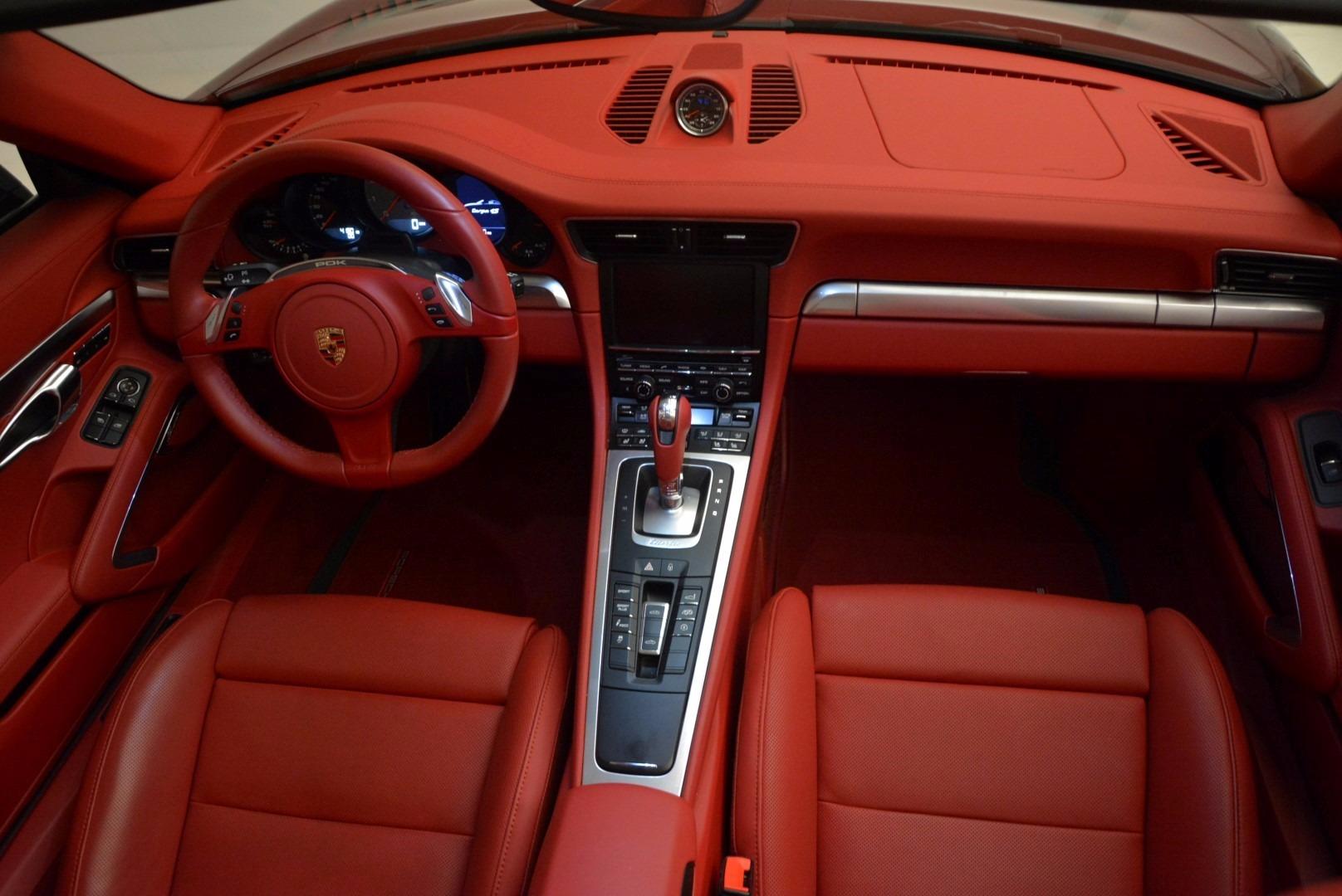 Used 2015 Porsche 911 Targa 4S For Sale In Greenwich, CT. Alfa Romeo of Greenwich, 7221A 1476_p24