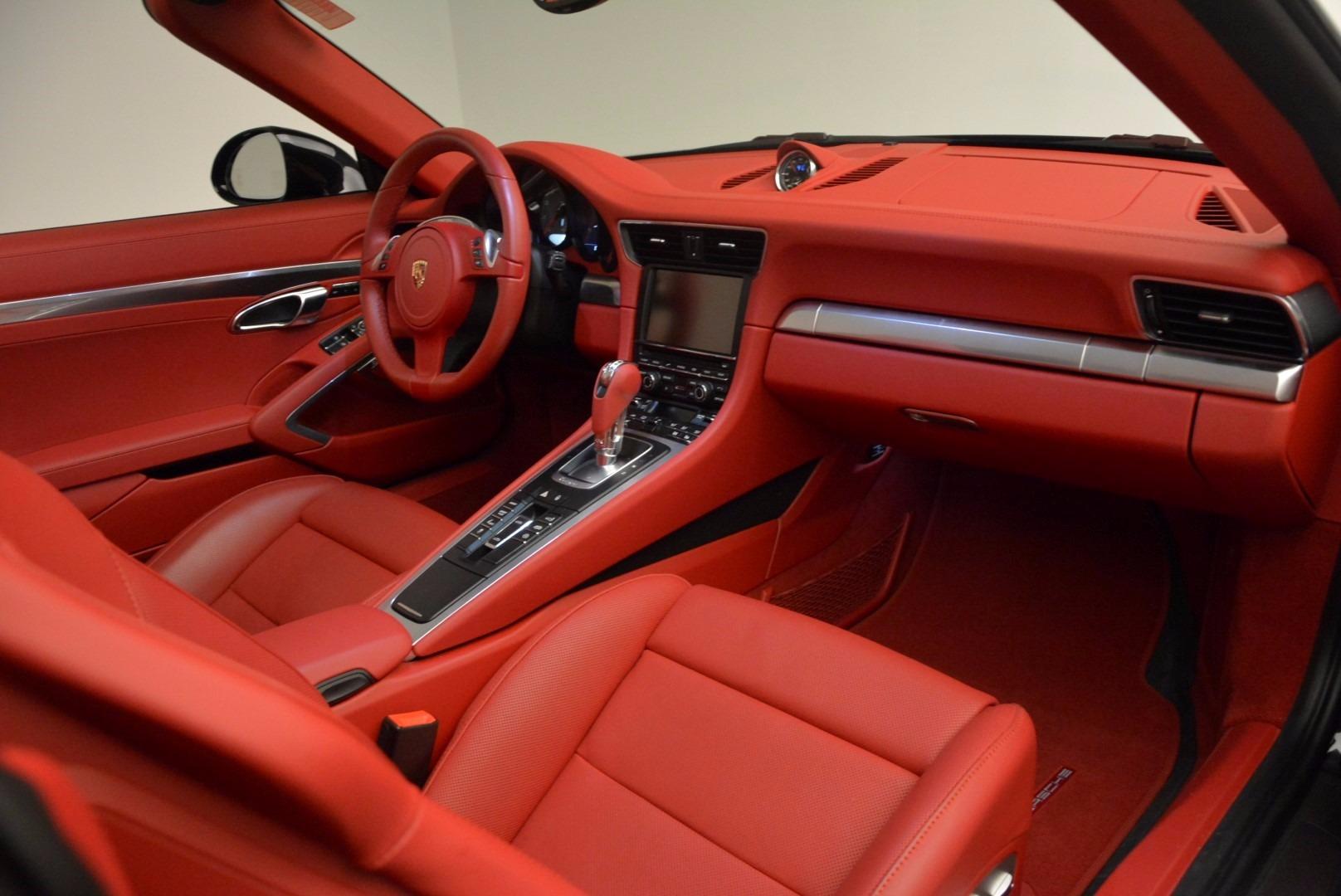 Used 2015 Porsche 911 Targa 4S For Sale In Greenwich, CT. Alfa Romeo of Greenwich, 7221A 1476_p25