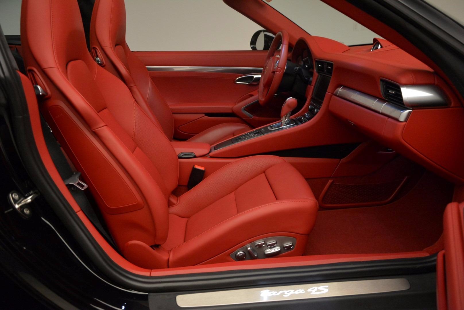 Used 2015 Porsche 911 Targa 4S For Sale In Greenwich, CT. Alfa Romeo of Greenwich, 7221A 1476_p26