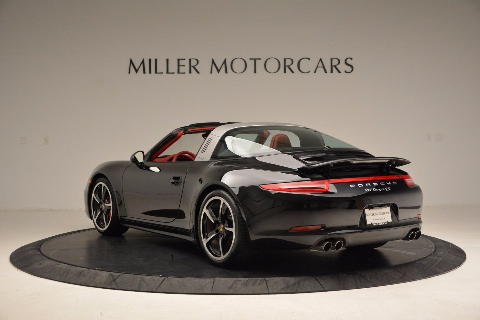 Used 2015 Porsche 911 Targa 4S For Sale In Greenwich, CT. Alfa Romeo of Greenwich, 7221A 1476_p5