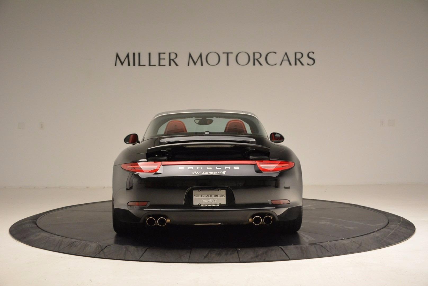 Used 2015 Porsche 911 Targa 4S For Sale In Greenwich, CT. Alfa Romeo of Greenwich, 7221A 1476_p6