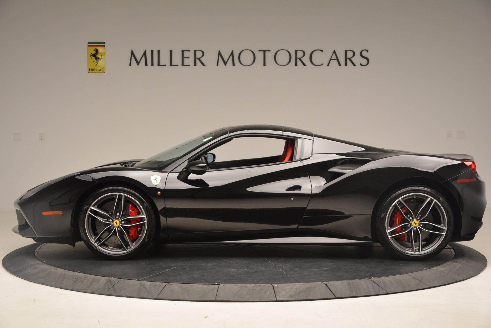 Used 2017 Ferrari 488 Spider  For Sale In Greenwich, CT. Alfa Romeo of Greenwich, 4411 1479_p15