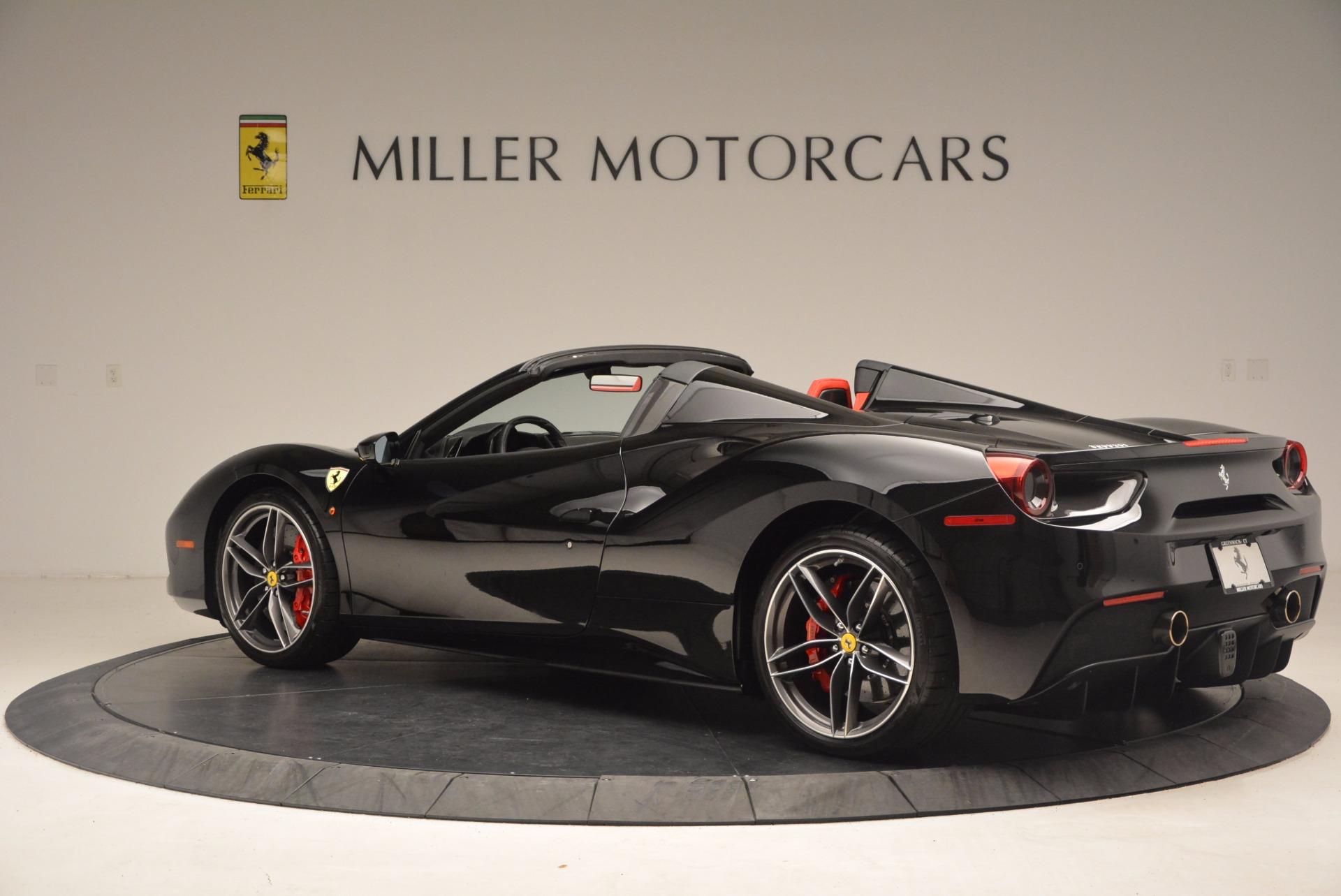 Used 2017 Ferrari 488 Spider  For Sale In Greenwich, CT. Alfa Romeo of Greenwich, 4411 1479_p4