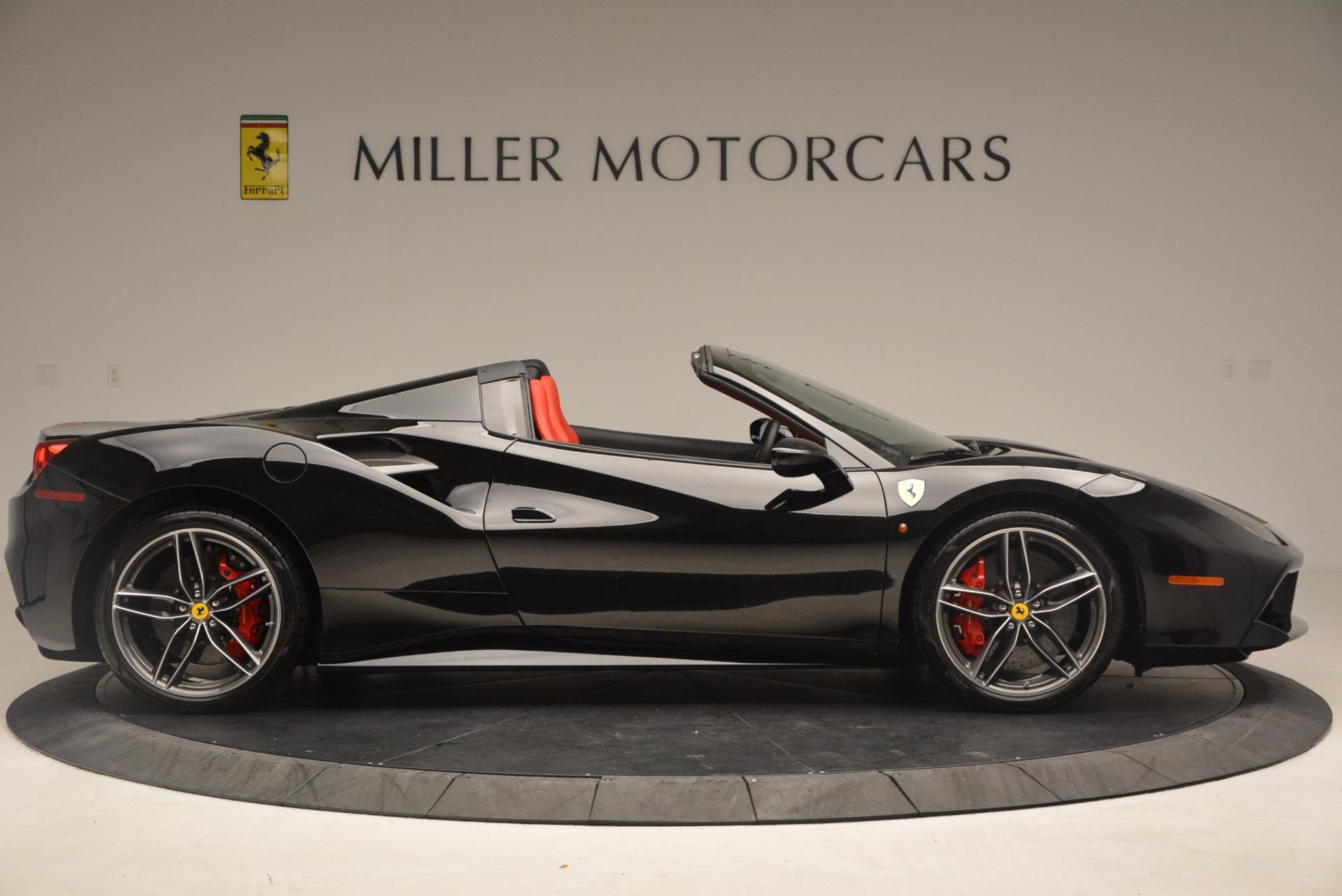 Used 2017 Ferrari 488 Spider  For Sale In Greenwich, CT. Alfa Romeo of Greenwich, 4411 1479_p9