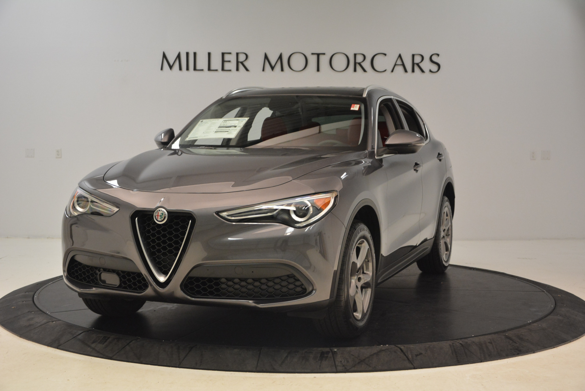 New 2018 Alfa Romeo Stelvio Q4 For Sale In Greenwich, CT. Alfa Romeo of Greenwich, L216 1490_main