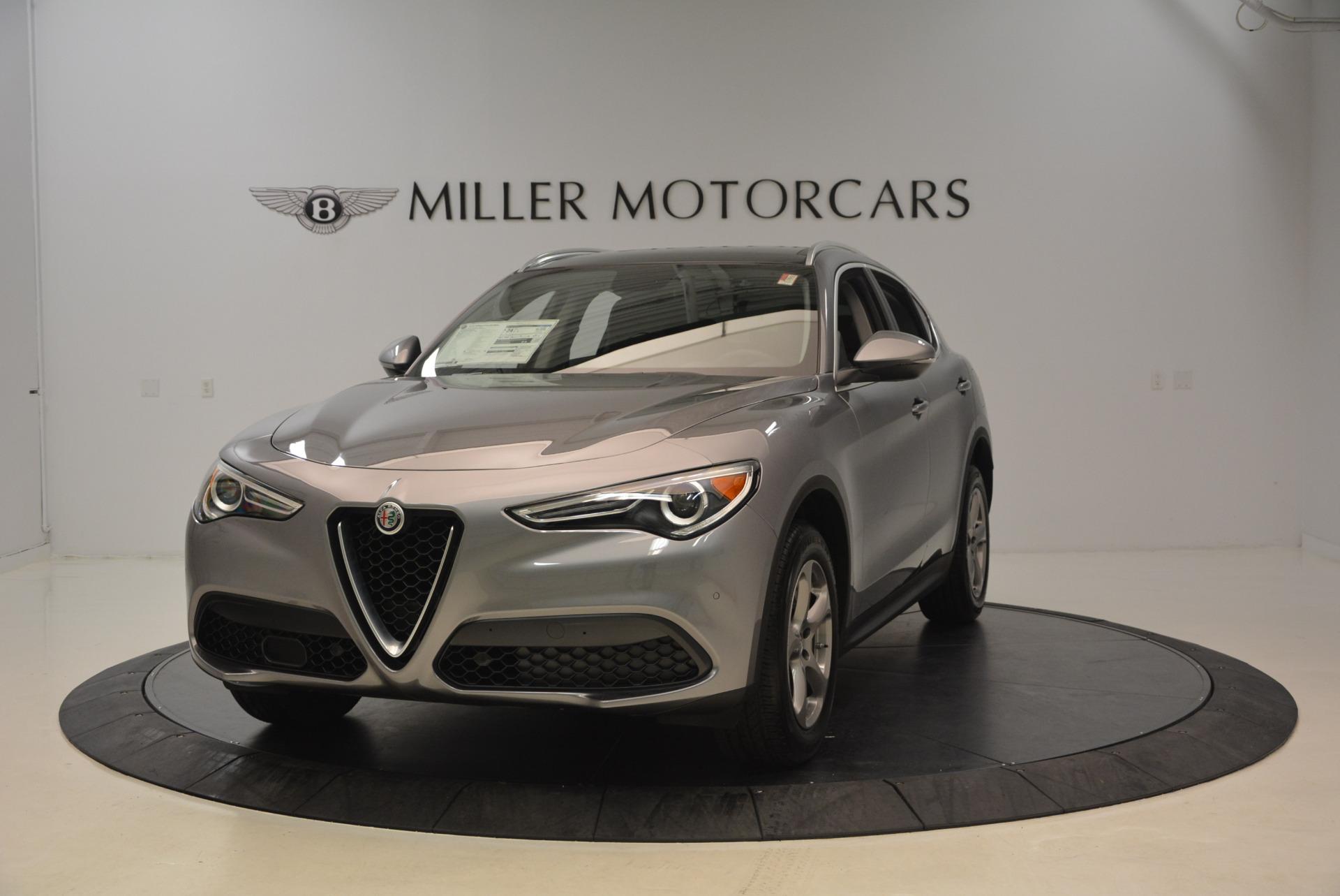New 2018 Alfa Romeo Stelvio Q4 For Sale In Greenwich, CT. Alfa Romeo of Greenwich, L217 1491_main