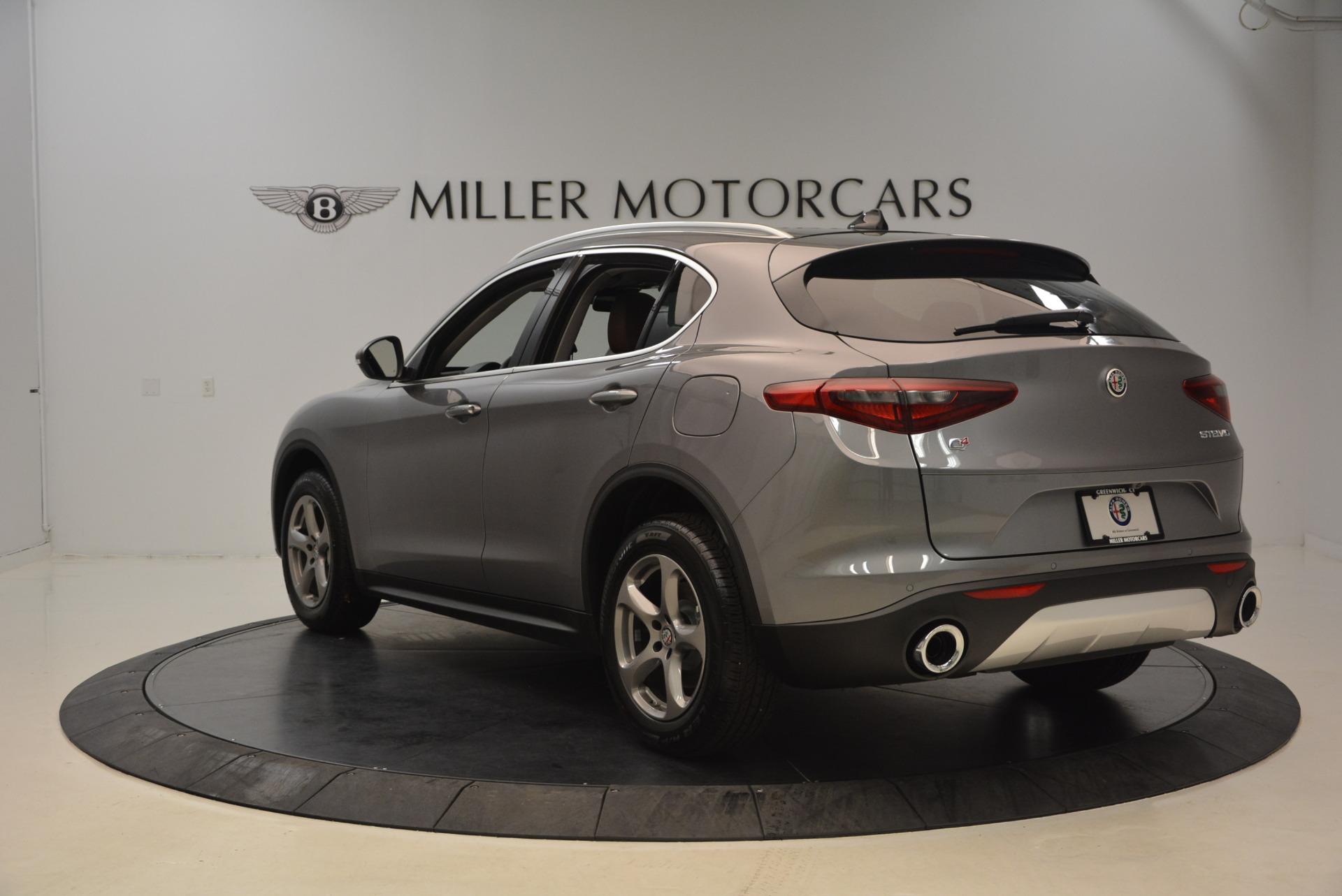New 2018 Alfa Romeo Stelvio Q4 For Sale In Greenwich, CT. Alfa Romeo of Greenwich, L217 1491_p5