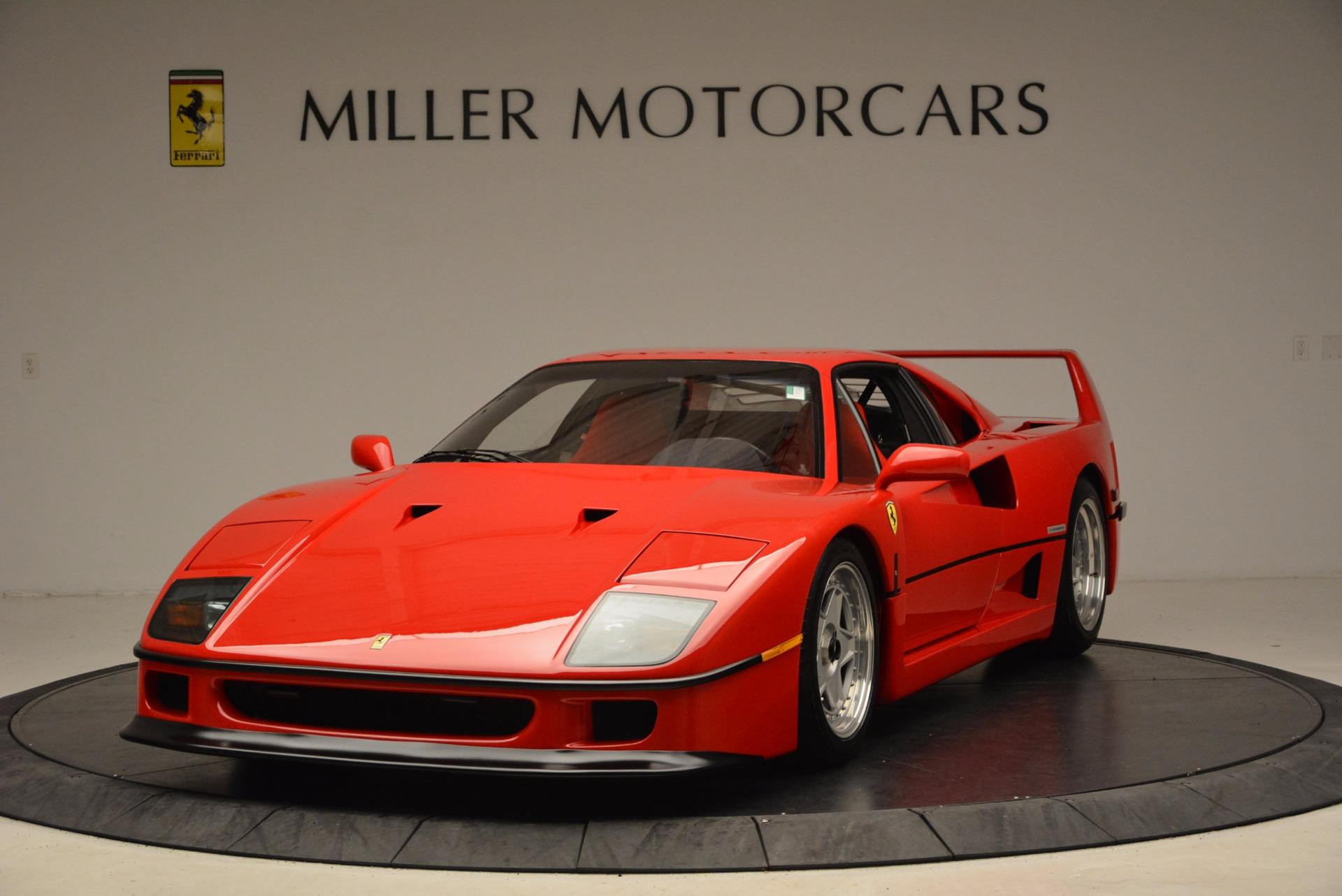 Used 1992 Ferrari F40  For Sale In Greenwich, CT. Alfa Romeo of Greenwich, 4389 1500_main