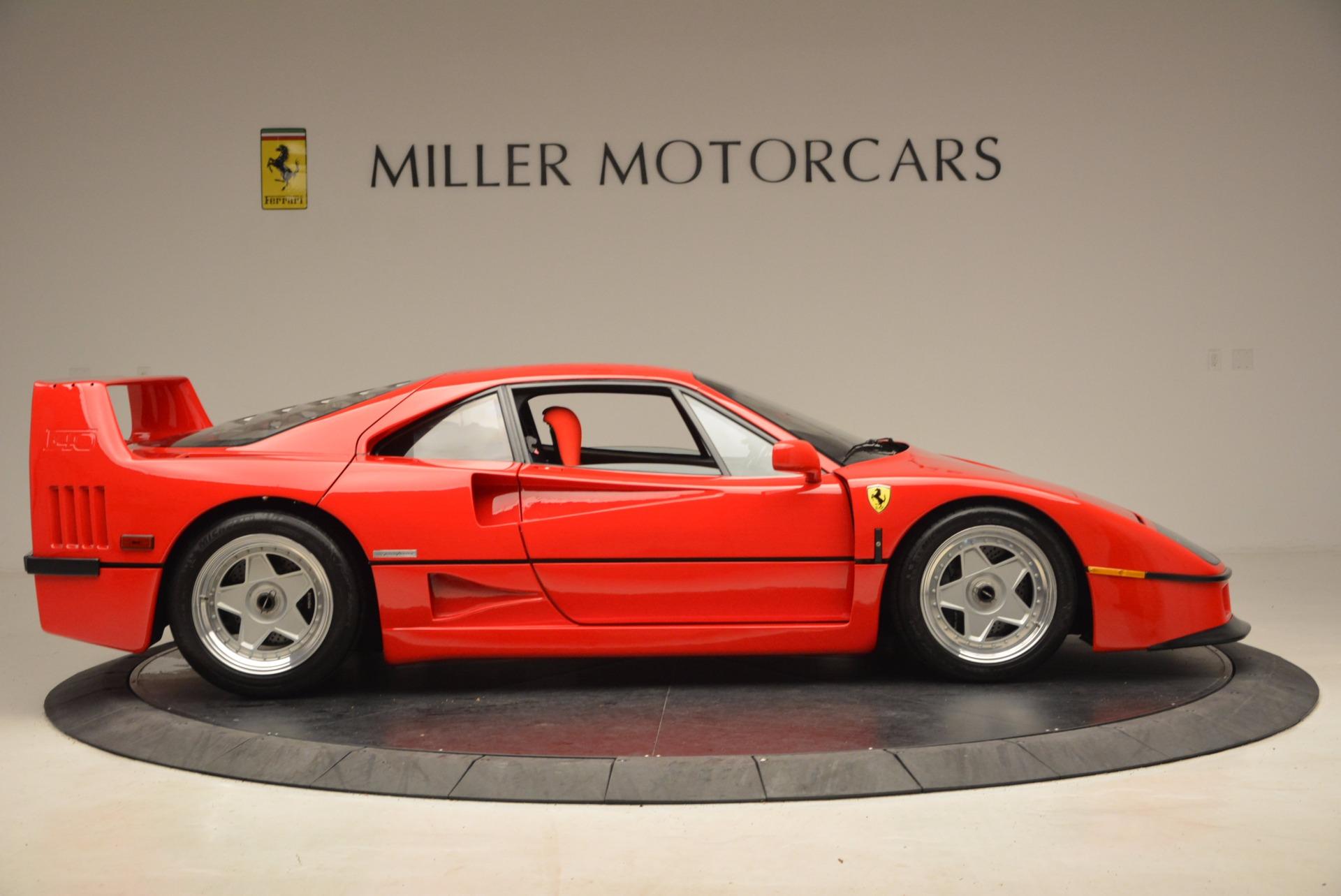 Used 1992 Ferrari F40  For Sale In Greenwich, CT. Alfa Romeo of Greenwich, 4389 1500_p10