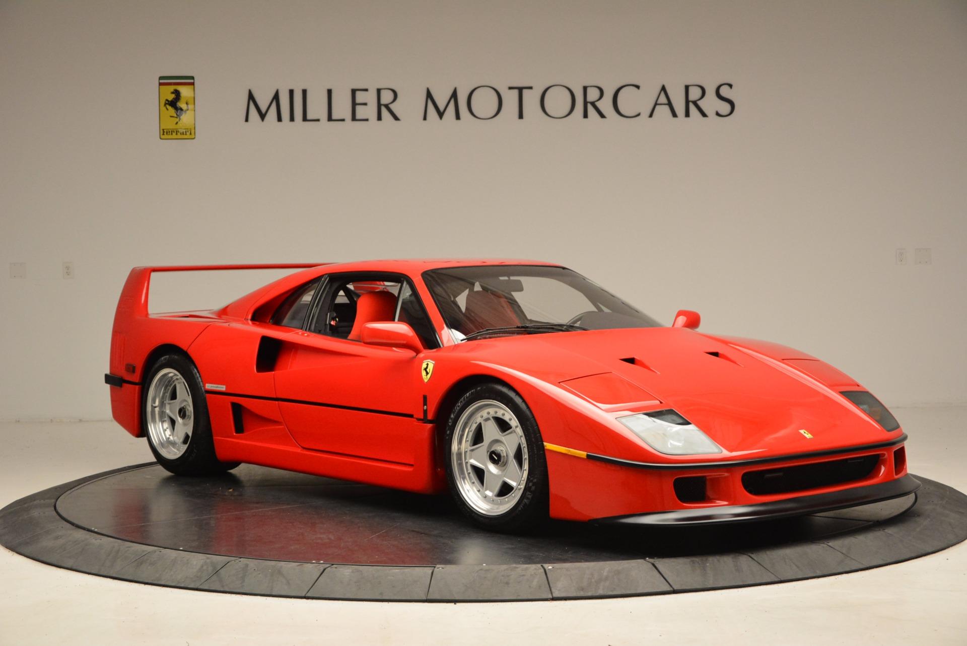 Used 1992 Ferrari F40  For Sale In Greenwich, CT. Alfa Romeo of Greenwich, 4389 1500_p12