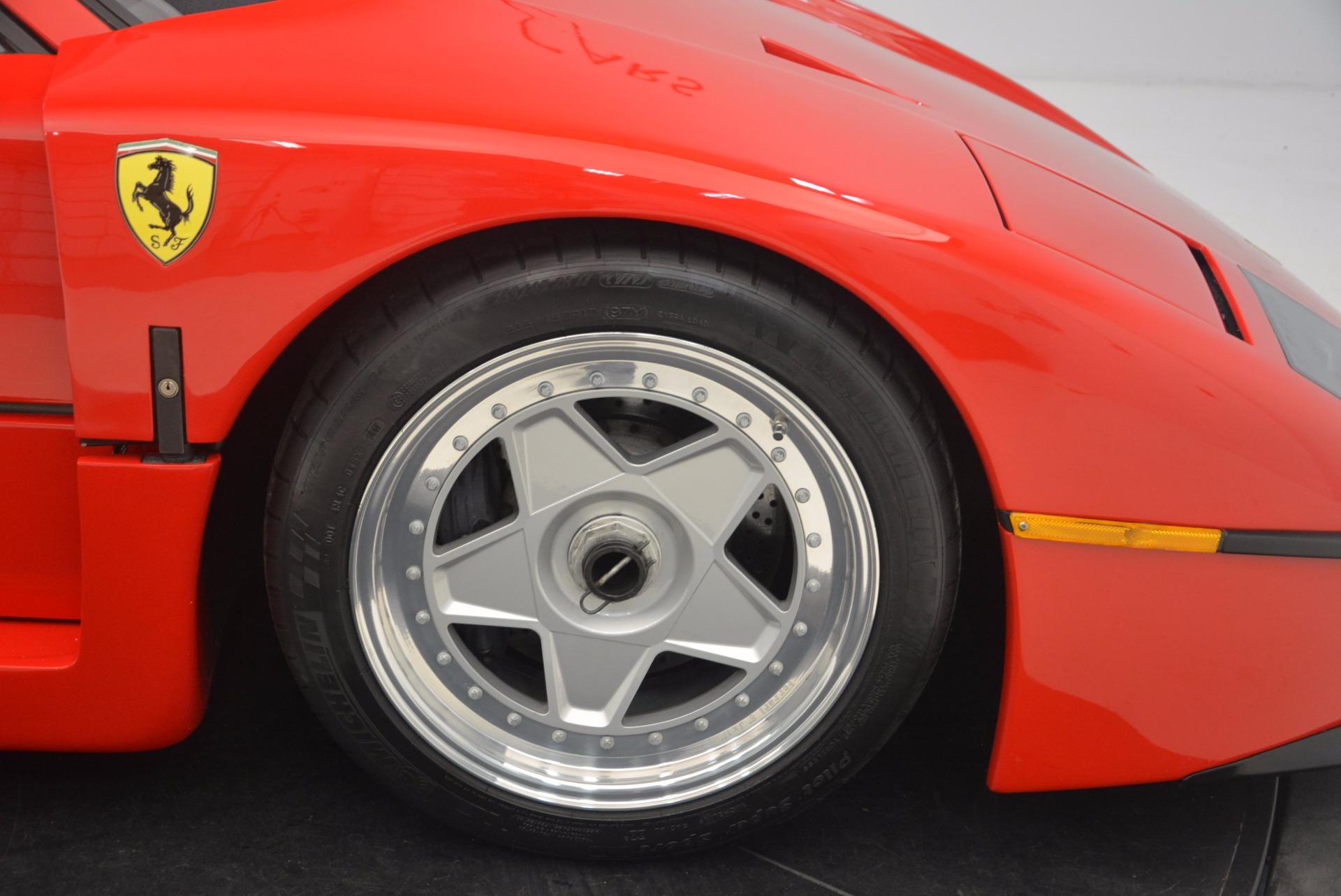 Used 1992 Ferrari F40  For Sale In Greenwich, CT. Alfa Romeo of Greenwich, 4389 1500_p21