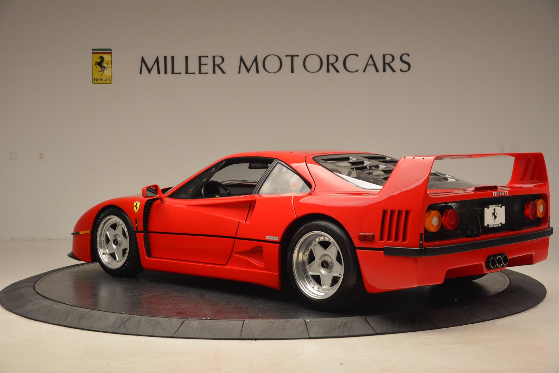 Used 1992 Ferrari F40  For Sale In Greenwich, CT. Alfa Romeo of Greenwich, 4389 1500_p5