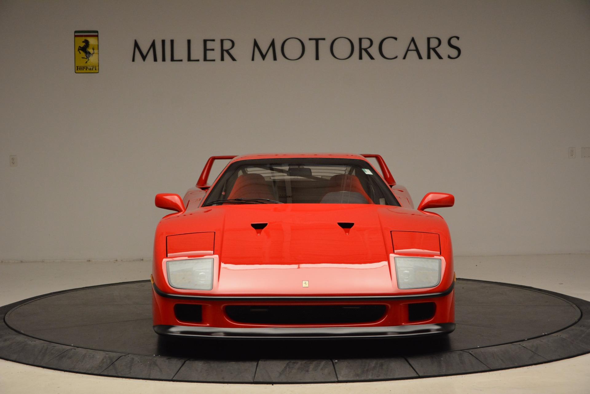 Used 1992 Ferrari F40  For Sale In Greenwich, CT. Alfa Romeo of Greenwich, 4389 1500_p6