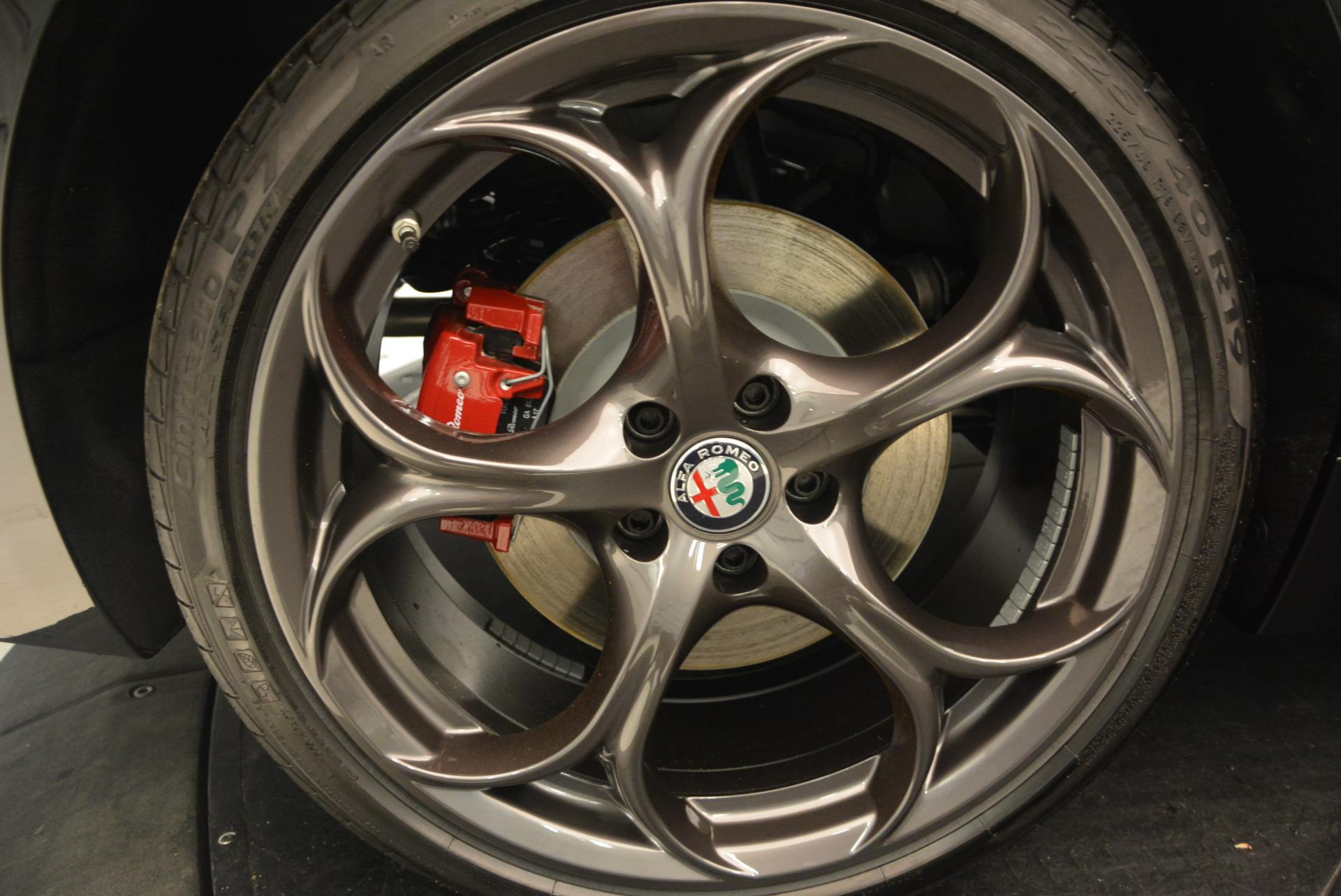 New 2017 Alfa Romeo Giulia Ti Sport Q4 For Sale In Greenwich, CT. Alfa Romeo of Greenwich, L218 1505_p25
