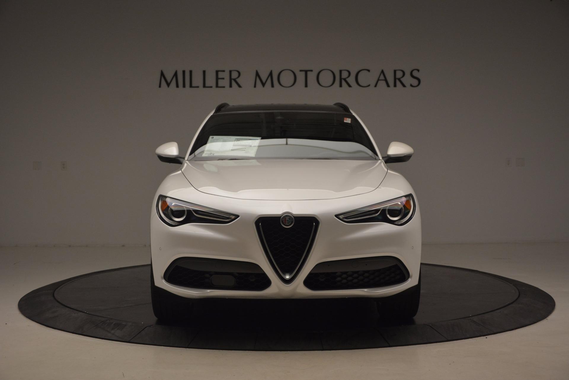 New 2018 Alfa Romeo Stelvio Ti Sport Q4 For Sale In Greenwich, CT. Alfa Romeo of Greenwich, L227 1517_p12