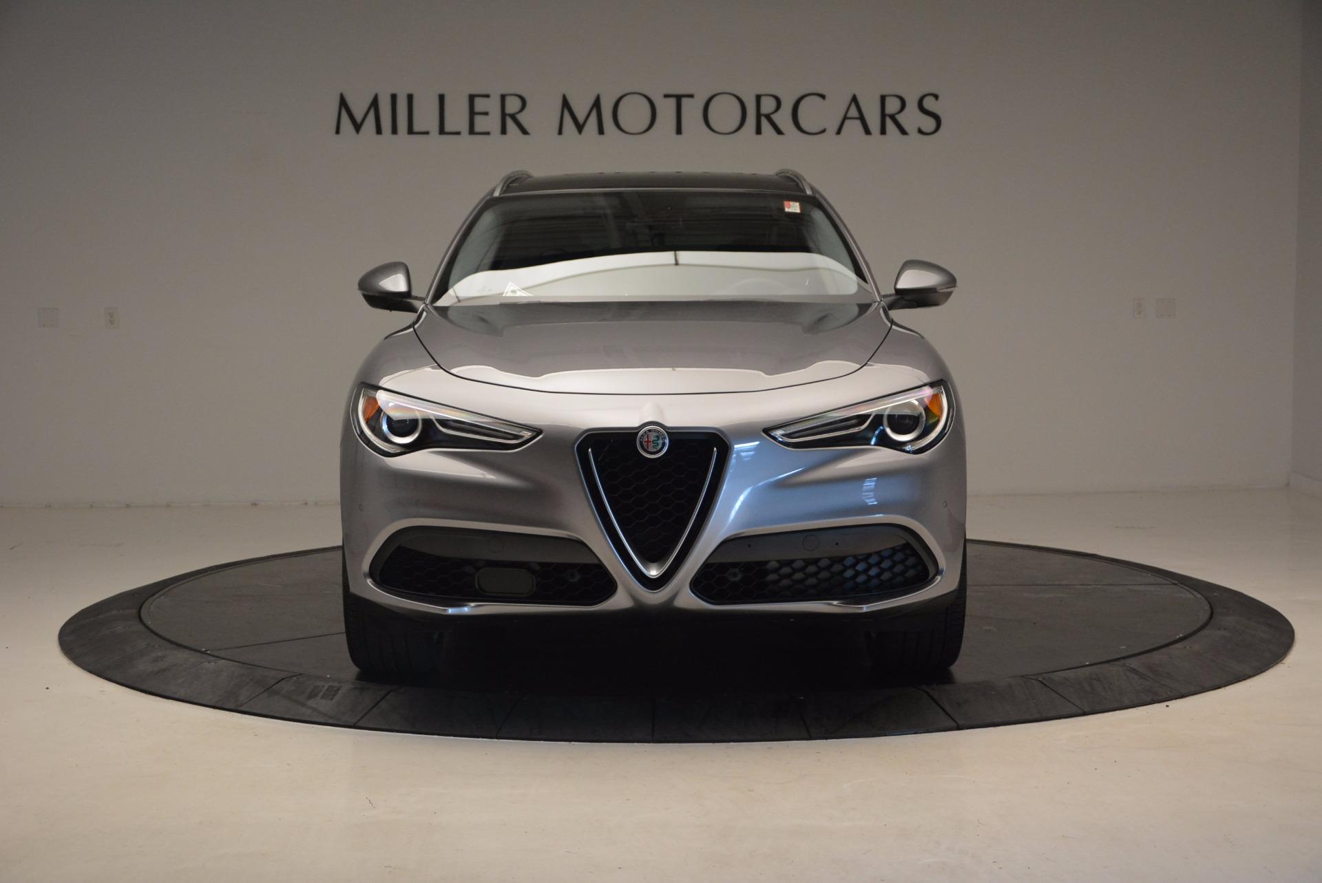 New 2018 Alfa Romeo Stelvio Q4 For Sale In Greenwich, CT. Alfa Romeo of Greenwich, L226 1518_p12