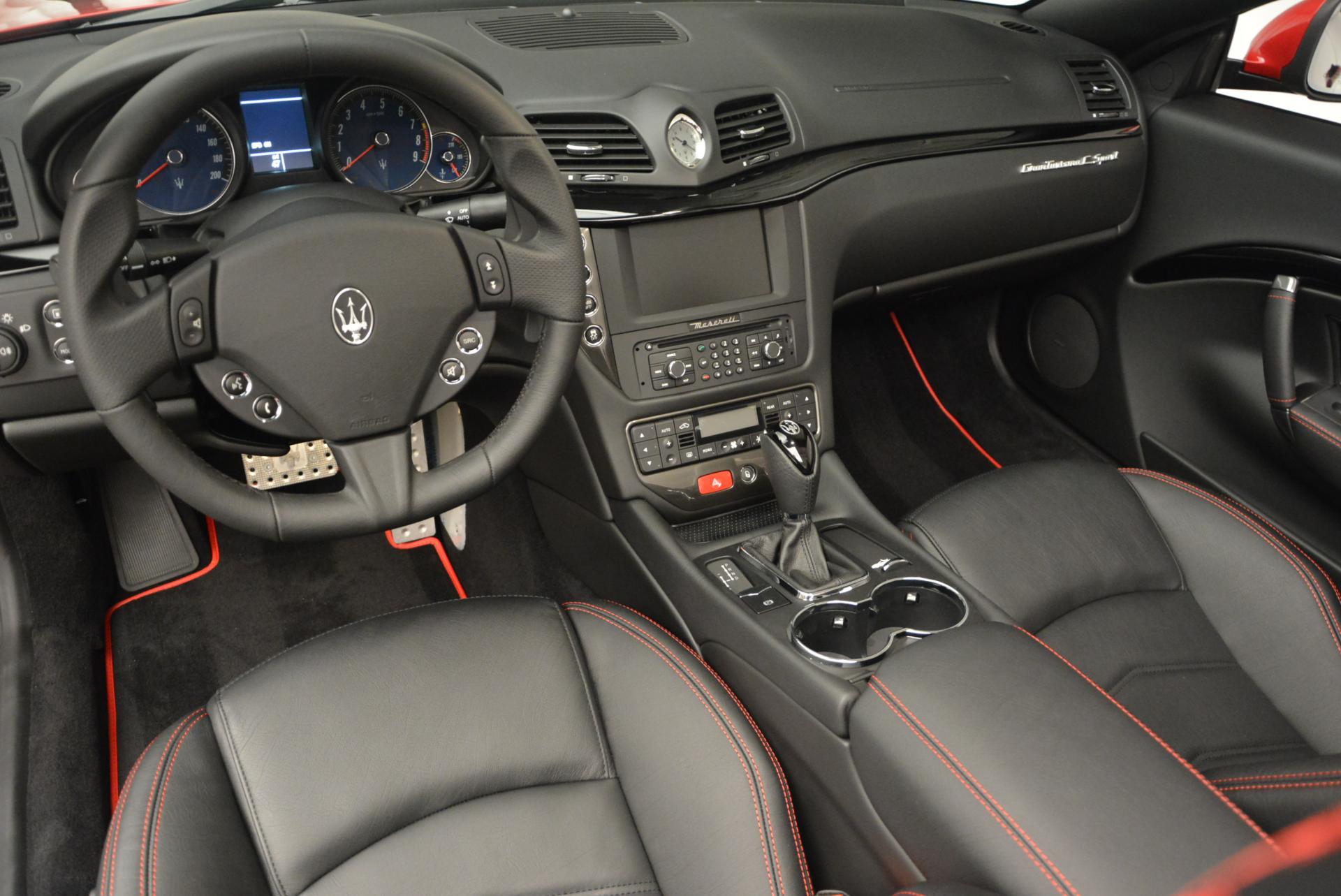 New 2017 Maserati GranTurismo Cab Sport For Sale In Greenwich, CT. Alfa Romeo of Greenwich, M1639 152_p20