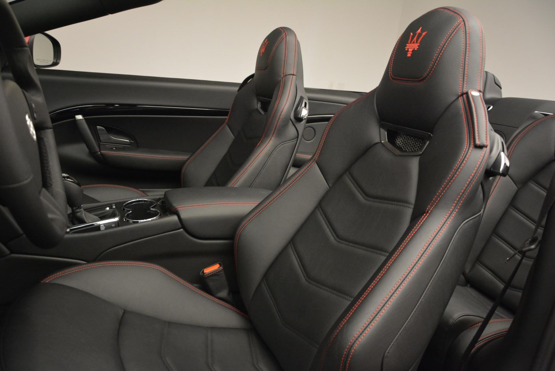 New 2017 Maserati GranTurismo Cab Sport For Sale In Greenwich, CT. Alfa Romeo of Greenwich, M1639 152_p22