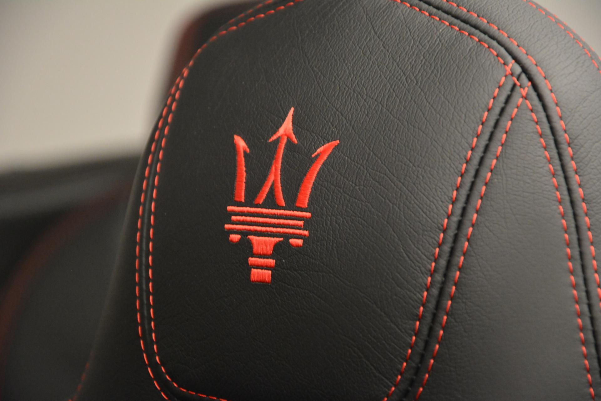 New 2017 Maserati GranTurismo Cab Sport For Sale In Greenwich, CT. Alfa Romeo of Greenwich, M1639 152_p23